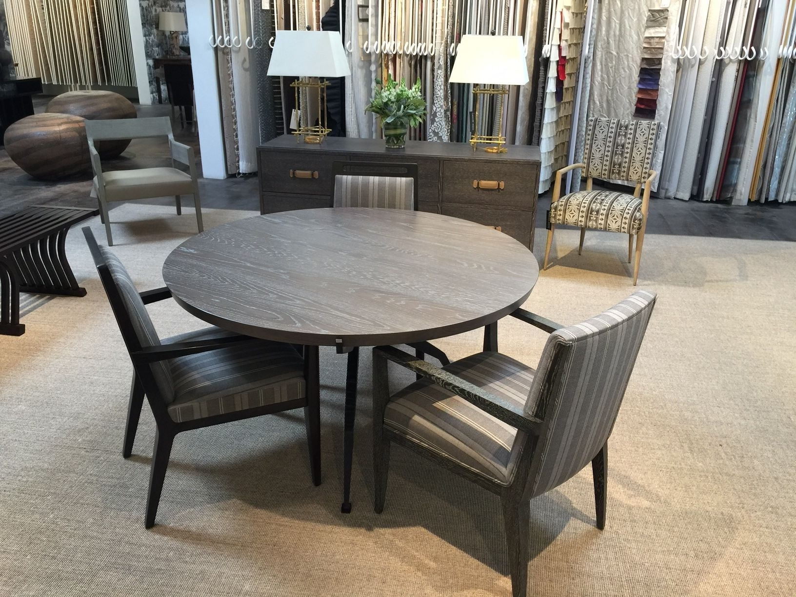 Popular John Brooks – Scottsdale Showroom: Mattaliano Gallery Showcasing Pertaining To Market 6 Piece Dining Sets With Side Chairs (View 9 of 25)