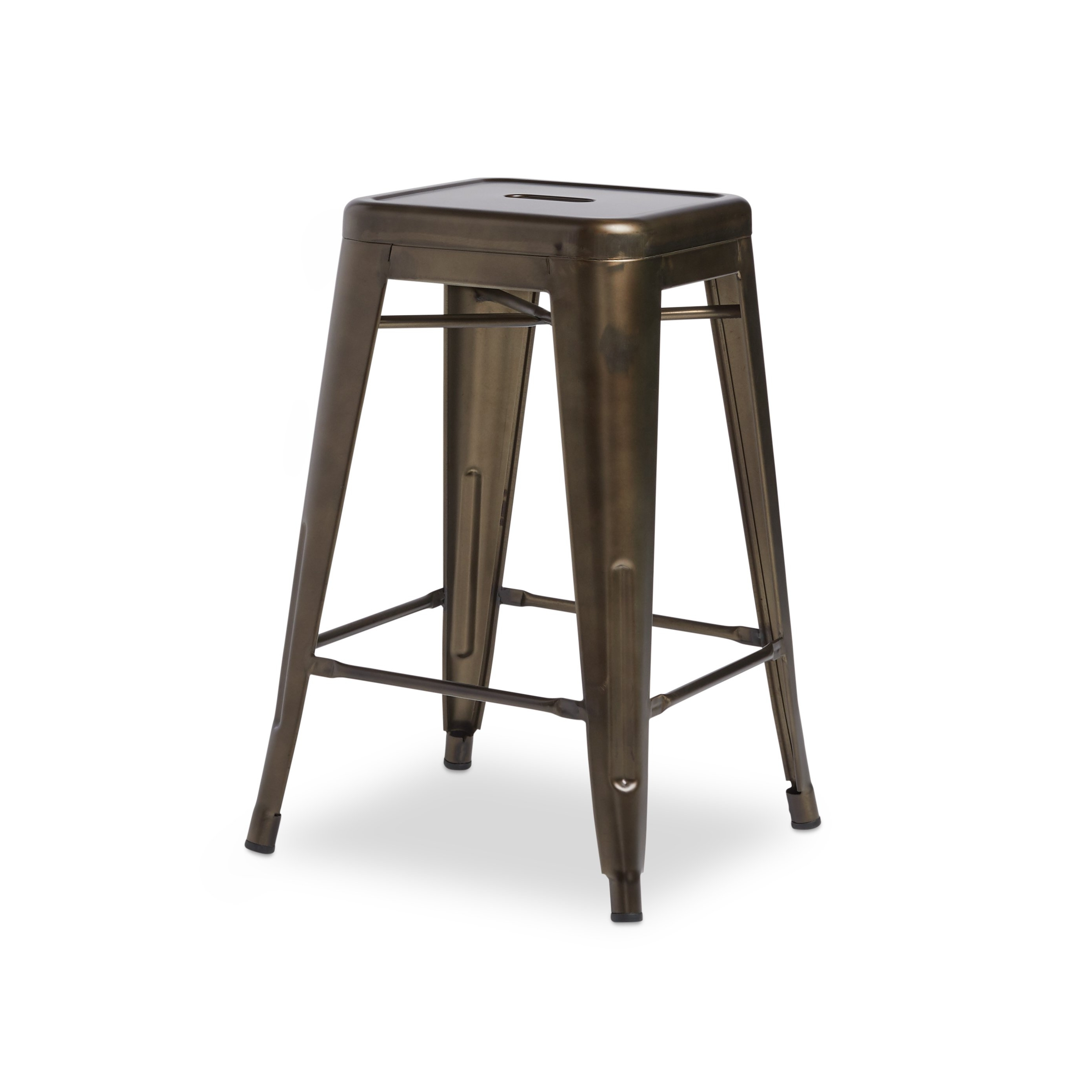 Popular Laurent 7 Piece Counter Sets With Wood Counterstools With Shop Tabouret 24 Inch Vintage Patina Backless Counter Stool (Set Of (View 15 of 25)