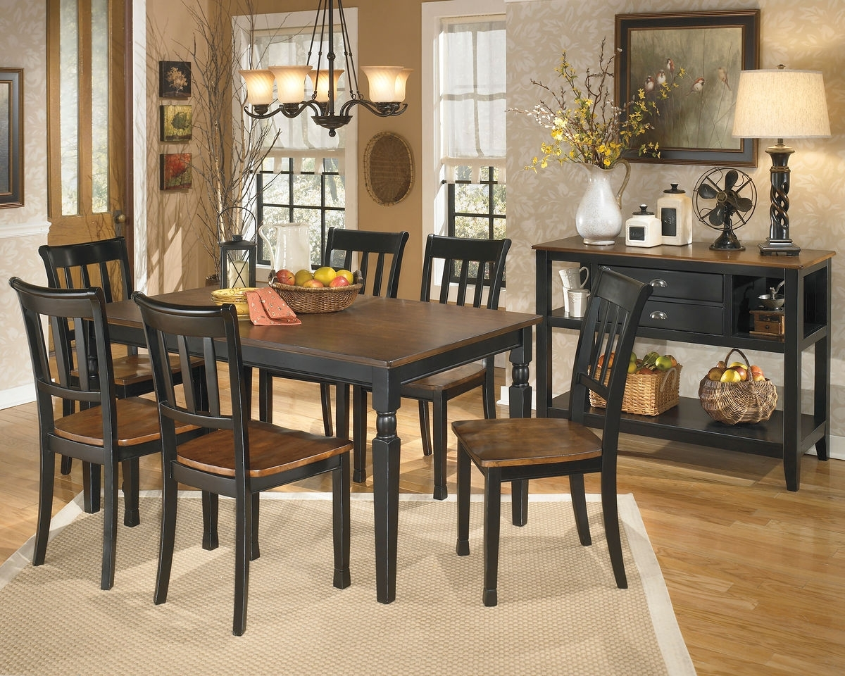 Popular Logan 6 Piece Dining Sets Within Owingsville – 8 Pc (View 20 of 25)