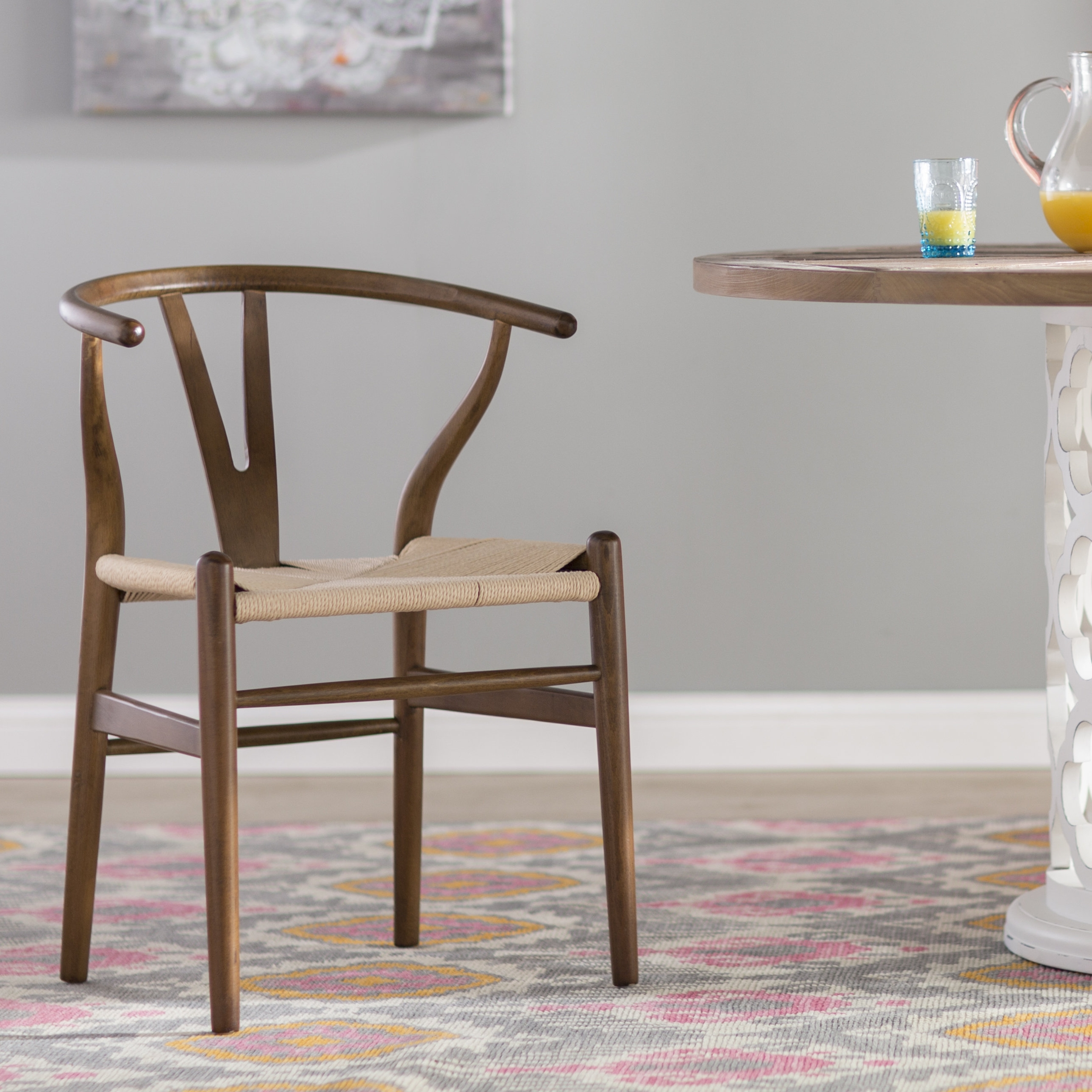 Popular Mistana Dayanara Solid Wood Dining Chair & Reviews (Gallery 25 of 25)