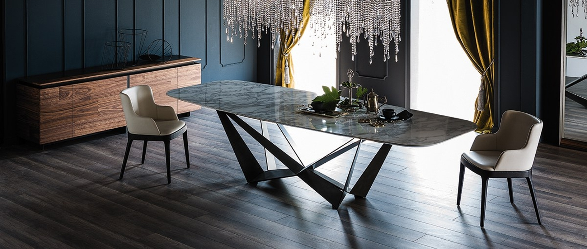 Popular Modern Dining Room Sets In Modern Dining Room Furniture – Modern Dining Tables, Dining Chairs (View 7 of 25)