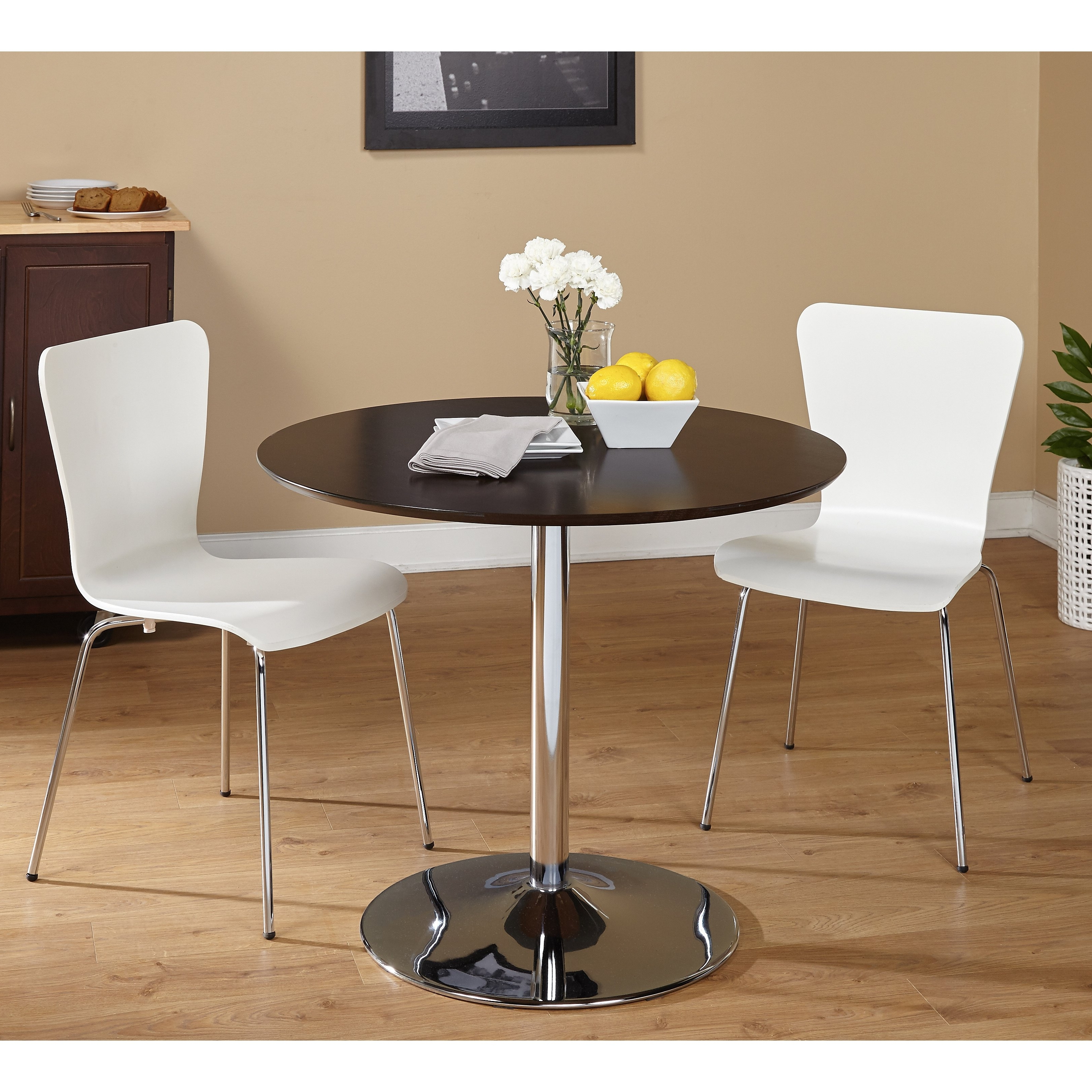 Popular Pisa Dining Tables Intended For Shop 3 Piece Pisa Dining Set – Free Shipping Today – Overstock (View 4 of 25)