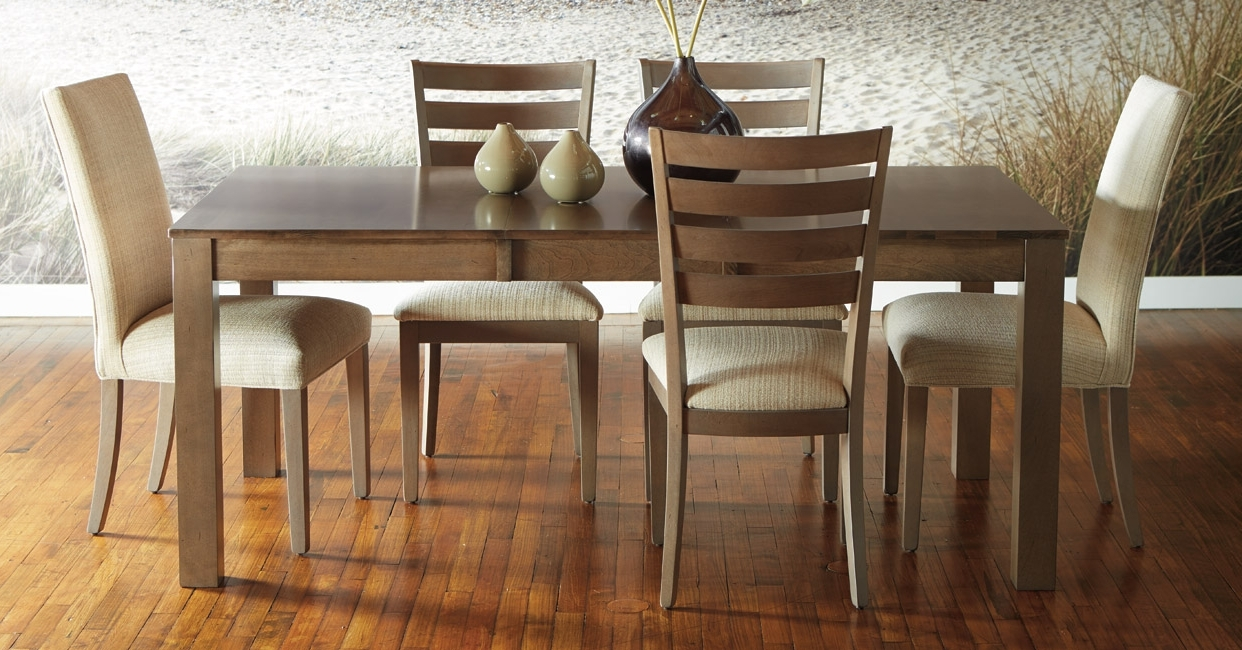 Popular Quality Canadian Wood Furniture: Dining Room Intended For Dining Room Tables (Gallery 13 of 25)