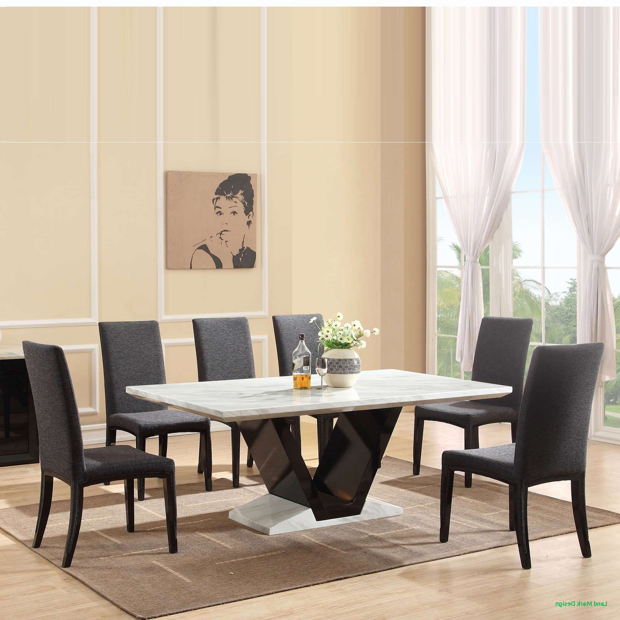 Popular Square Eight Seater Dining Table Home Design (Gallery 18 of 25)