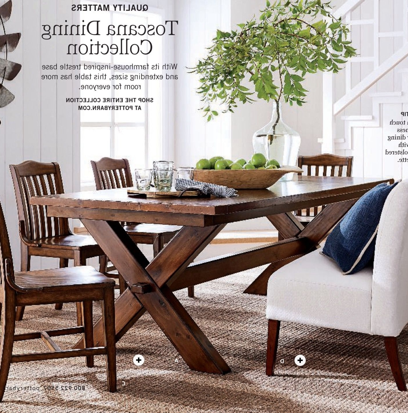 Popular Toscano Dining Table, Stella Dining Chairs, Barrett Glass Globe Regarding Toscana Dining Tables (View 7 of 25)