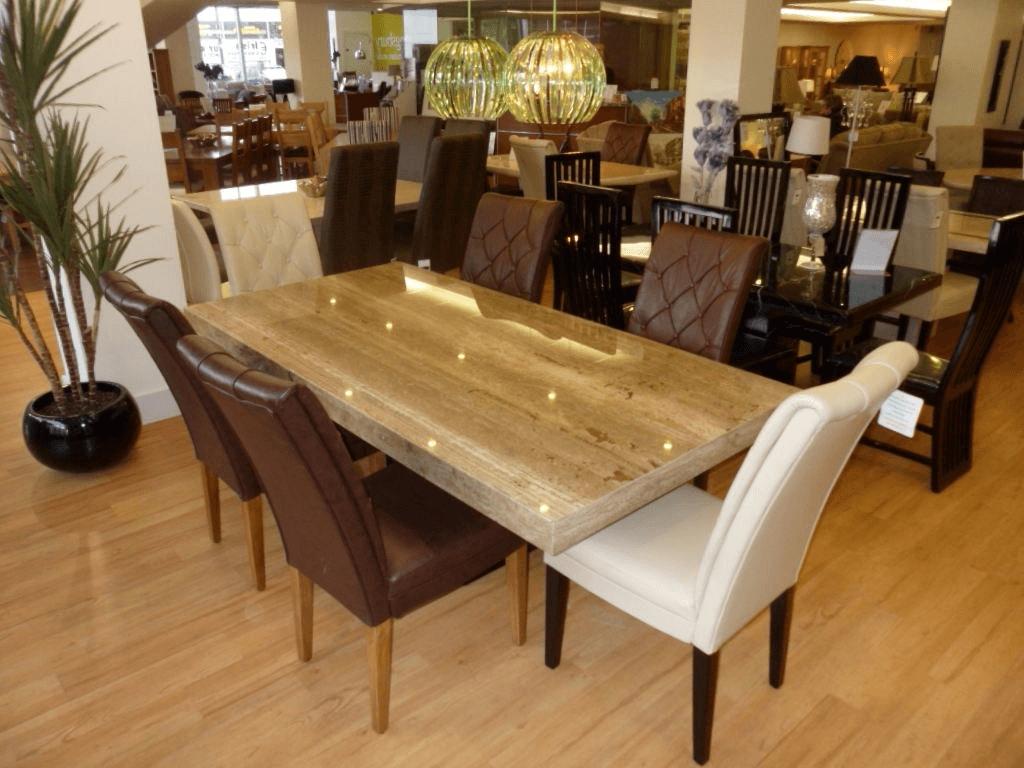 Popular Travertine Marble – Furniture Shop Dublin (View 19 of 25)