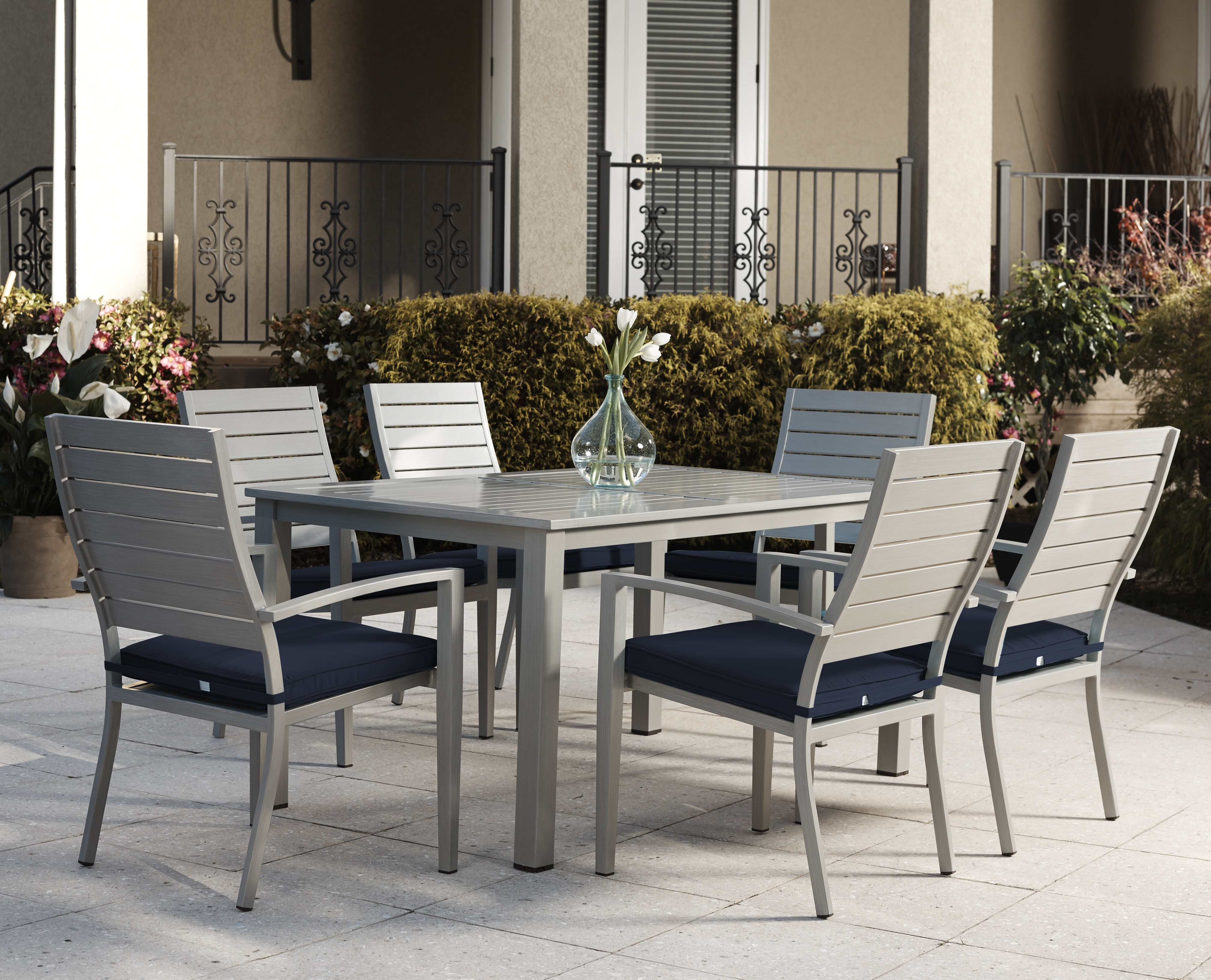 Popular Wade Logan Yohan 7 Piece Dining Set With Cushion & Reviews (View 18 of 25)