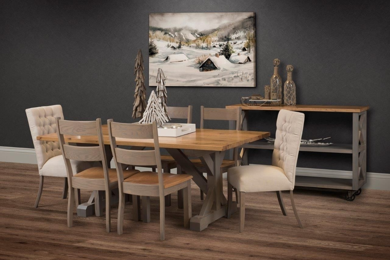 Popular Weaver Ii Dining Tables With Regard To Weaver's Furniture Of Sugarcreek Works With Local Amish Country (View 12 of 25)