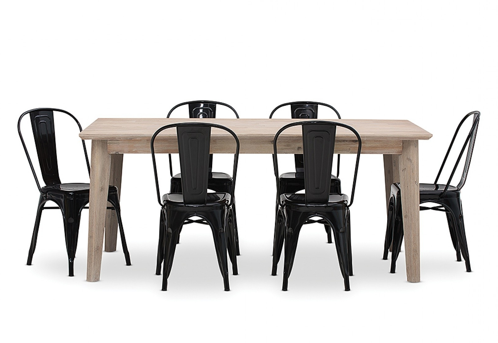 Portland Dining Tables Intended For Favorite Portland 7 Piece Dining Suite With Rocket Dining Chairs (View 12 of 25)