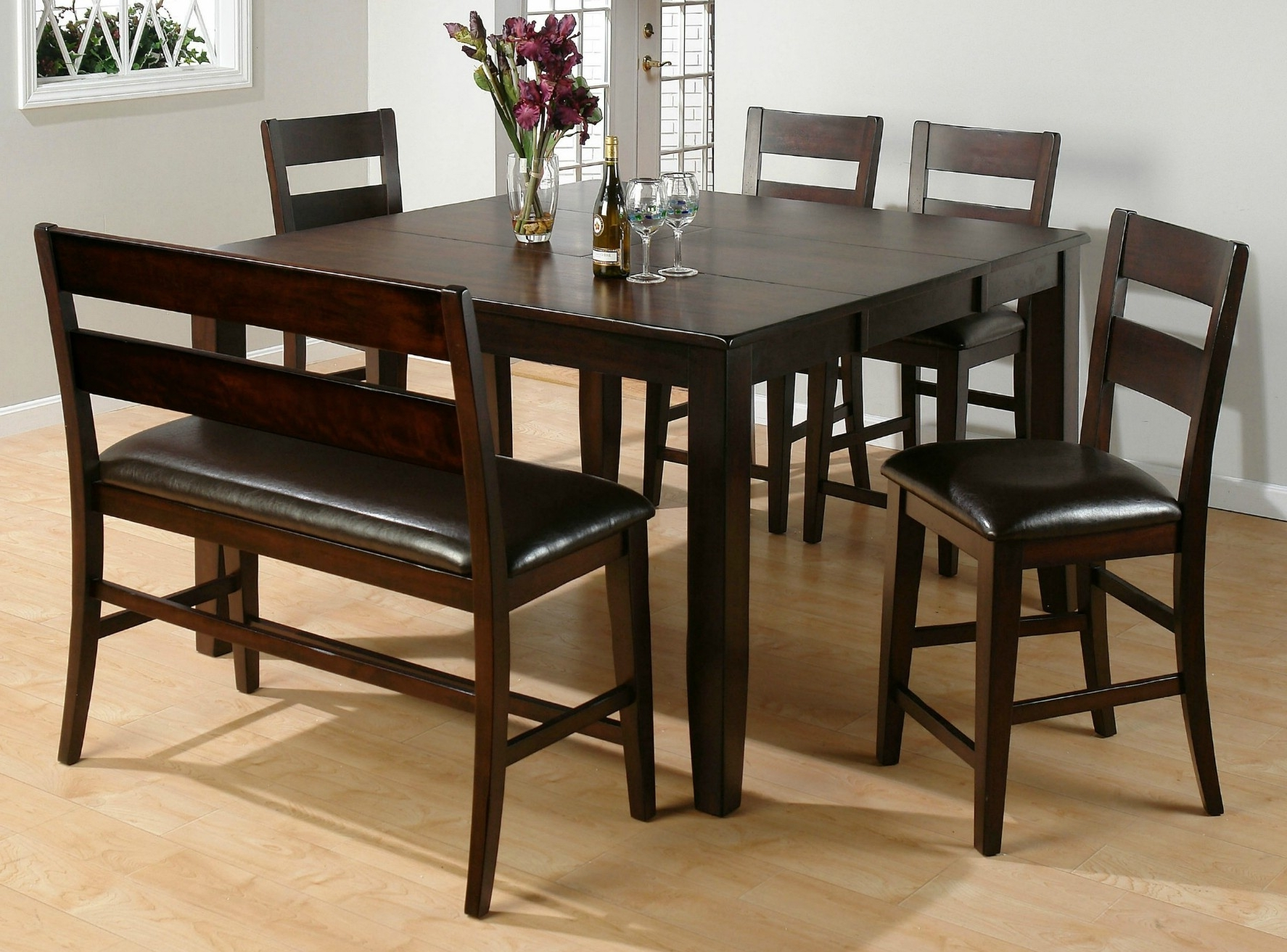 Preferred Bench With Back For Dining Tables Throughout Furniture (View 7 of 25)