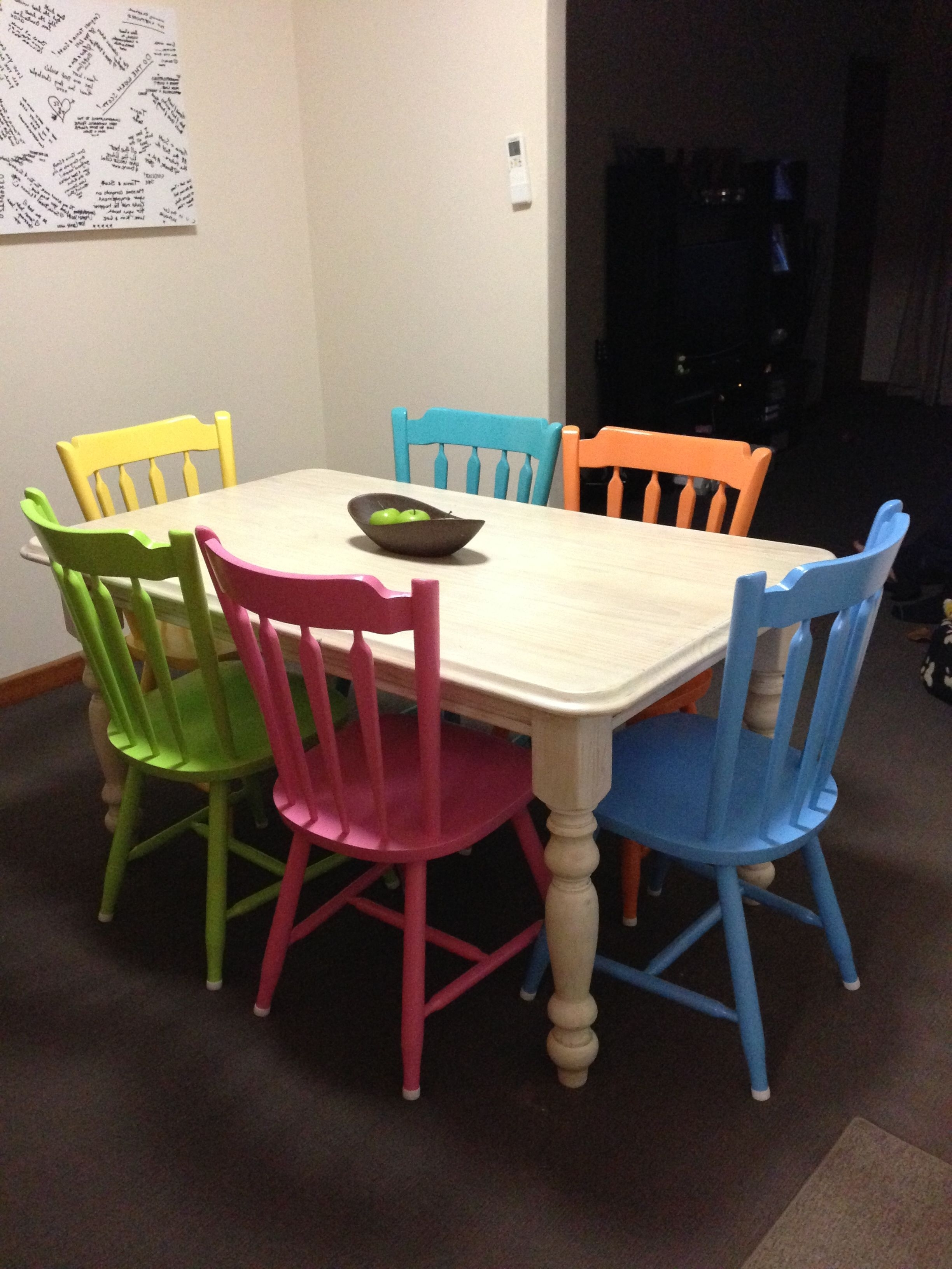 Preferred Best Different Color Dining Room Chairs – Esescatrina In Colourful Dining Tables And Chairs (View 13 of 25)