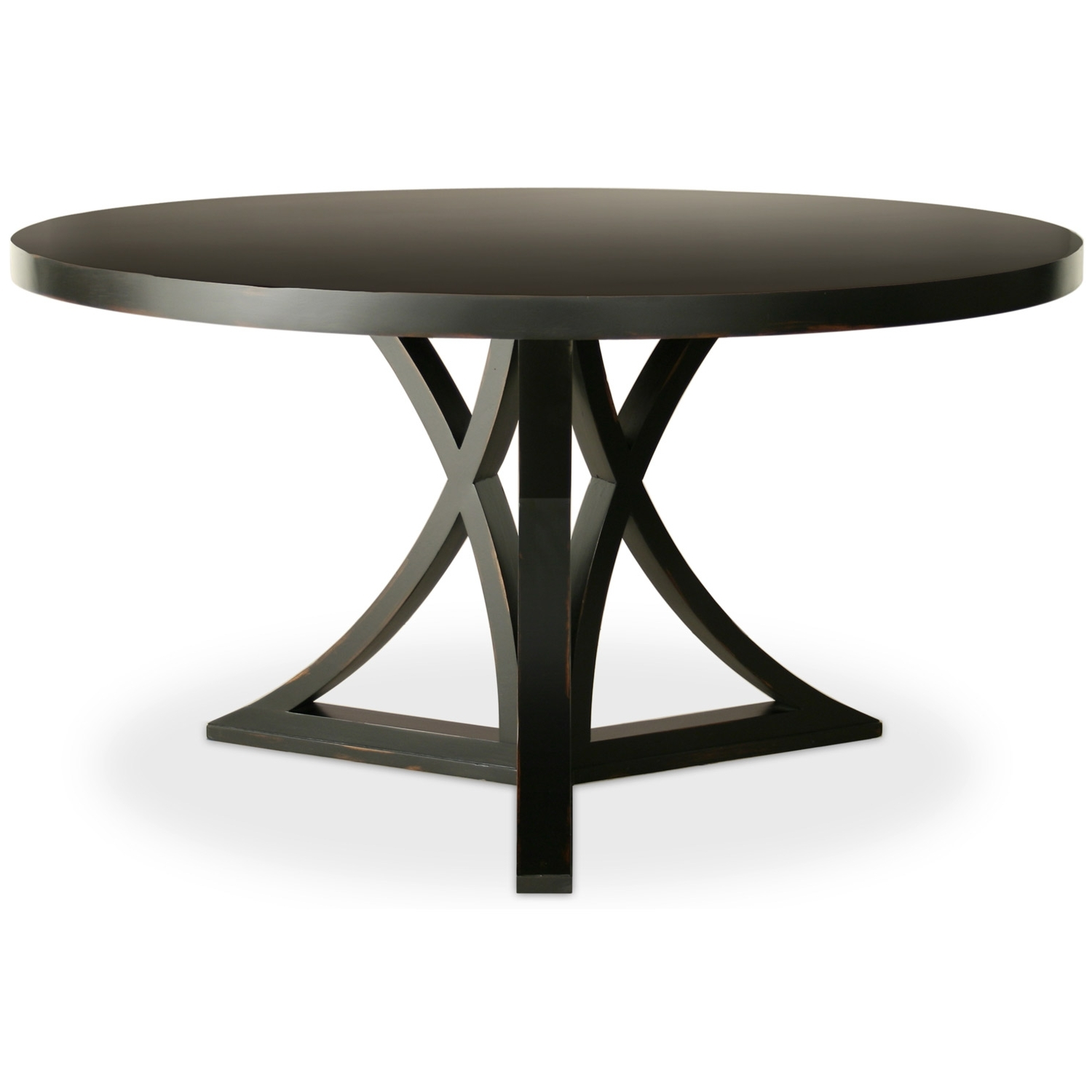 Featured Photo of Caira Black Round Dining Tables