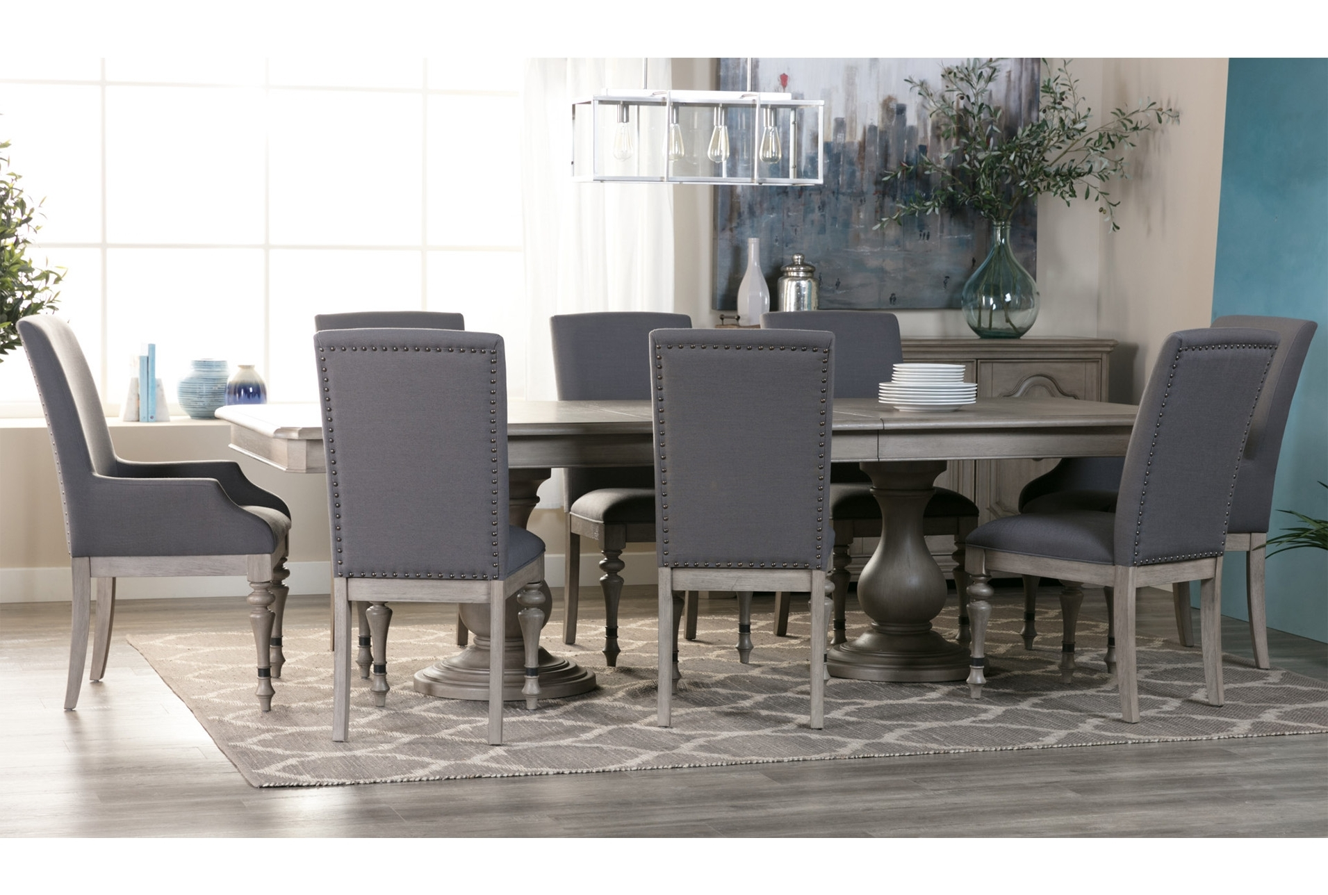 Preferred Caira Extension Pedestal Dining Table (View 2 of 25)