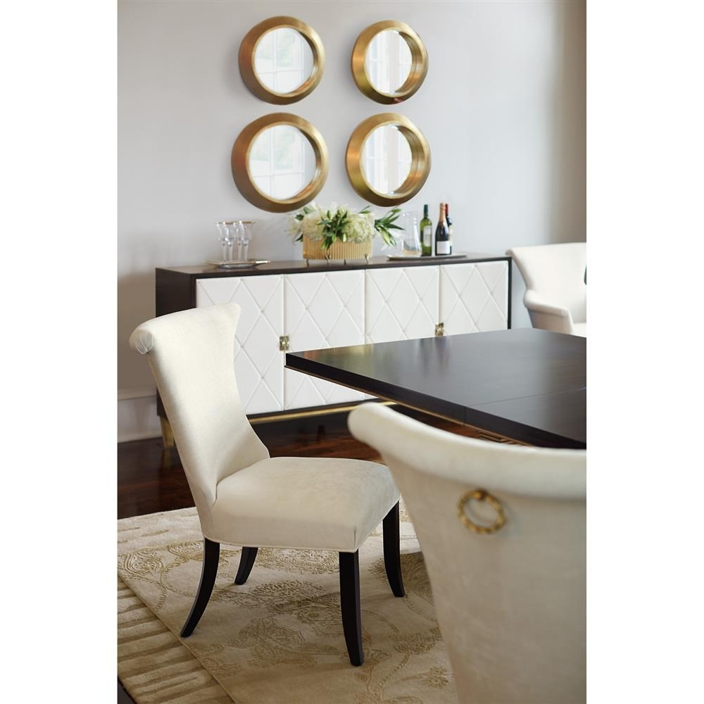 Preferred Crawford 6 Piece Rectangle Dining Sets With Regard To Crawford Regency Terrace Gold Pedestal Wood Dining Table (View 16 of 25)