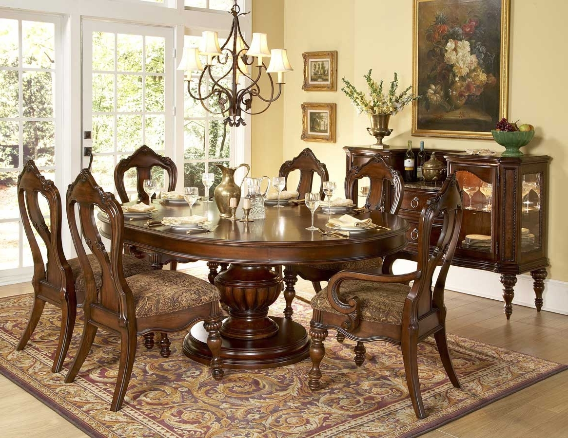 Preferred Decorating Nice Dining Table Set 6 Seater Formal Room Ideas Casual With Regard To Candice Ii Round Dining Tables (View 23 of 25)