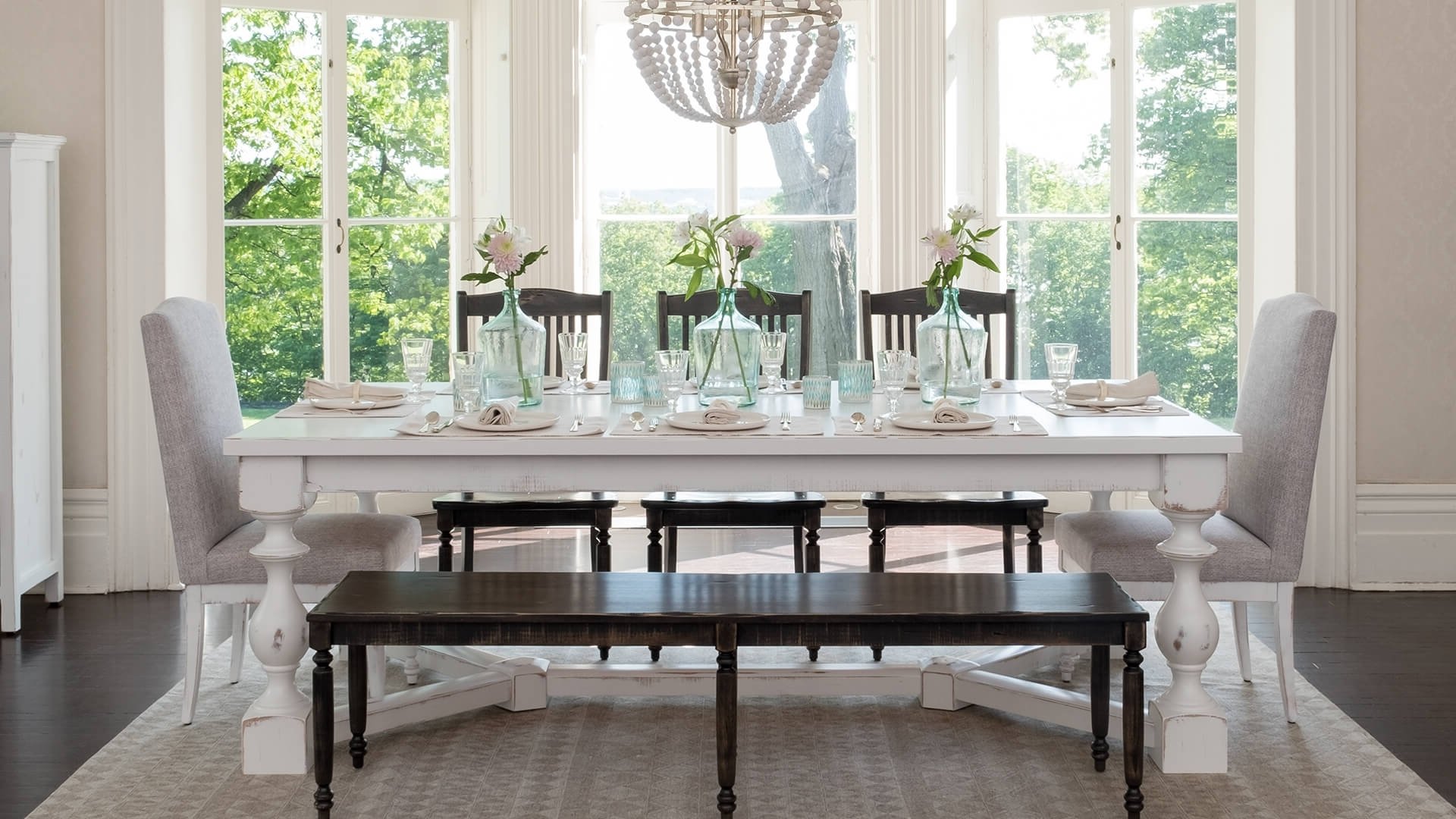 Preferred Dining Room Tables Regarding Wood Furniture For Kitchen, Living And Dining Room – Canadel (View 23 of 25)