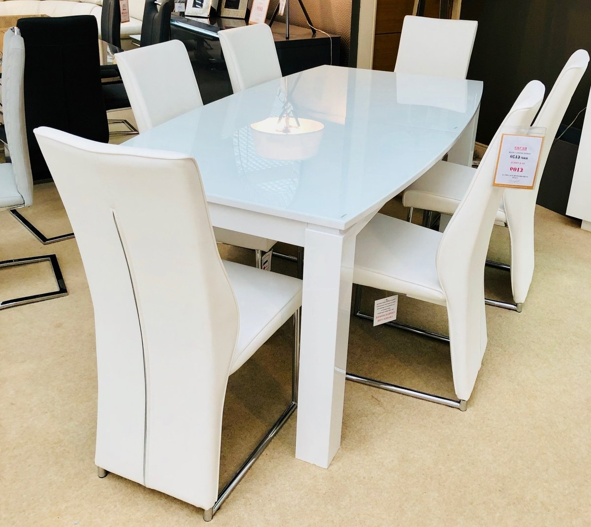 "Preferred Dining Tables With Led Lights Intended For Morale Home On Twitter: ""another New Dining Table Exclusive To Our (View 21 of 25)"