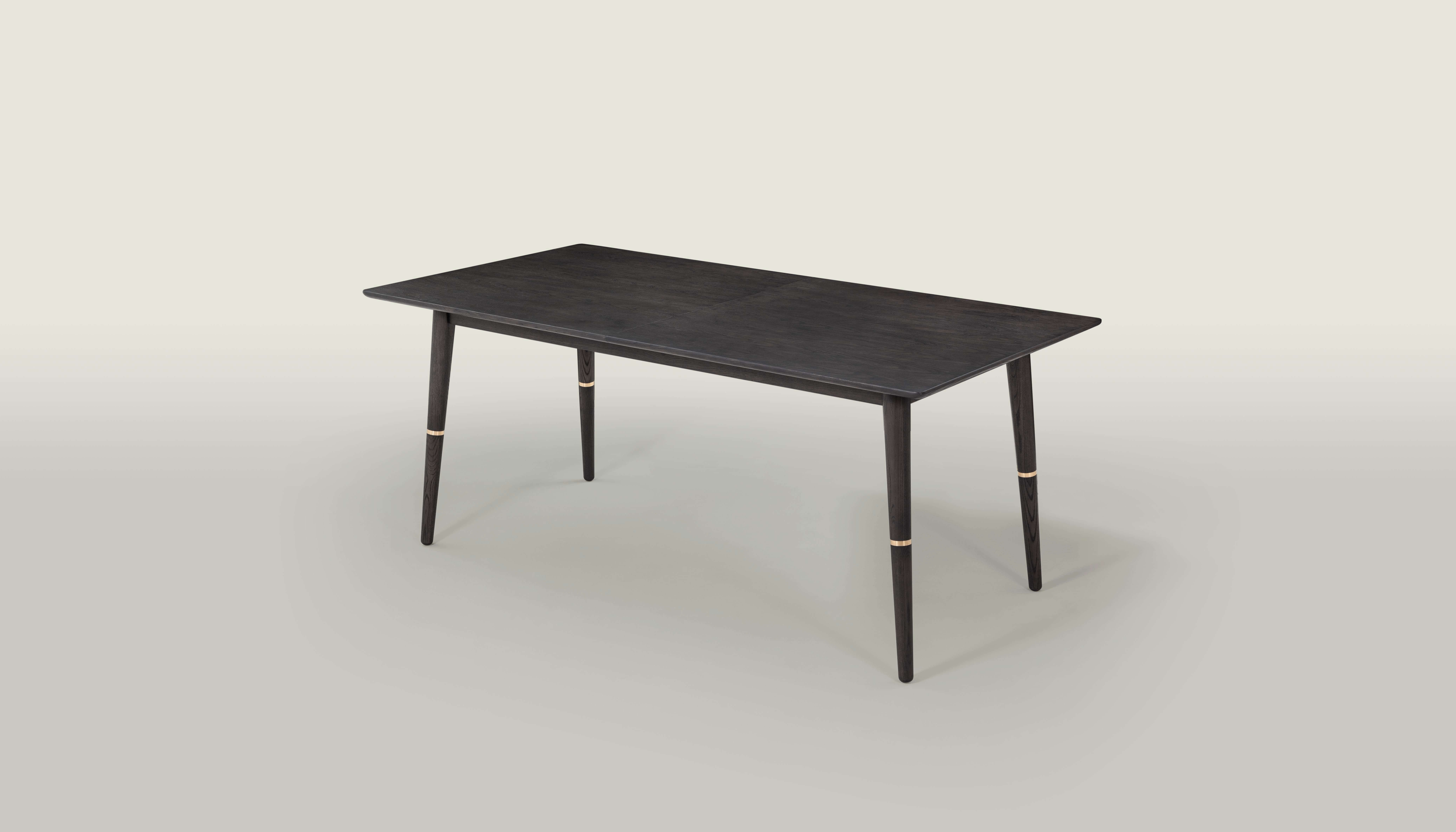 Preferred Extendable Dining Table – Del Mar – Black And Gold – Pma In Square Extendable Dining Tables (View 19 of 25)