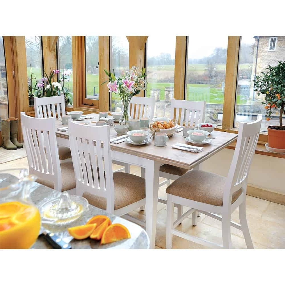 Preferred Extending Dining Tables With 6 Chairs With Lulworth Extending Dining Table And 6 Chairs – Www.dmwfurniture.co.uk (Gallery 15 of 25)