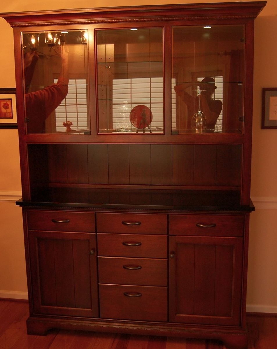 Preferred Handmade Dining Room Cabinetsjk Woodcraft & Design (View 21 of 25)