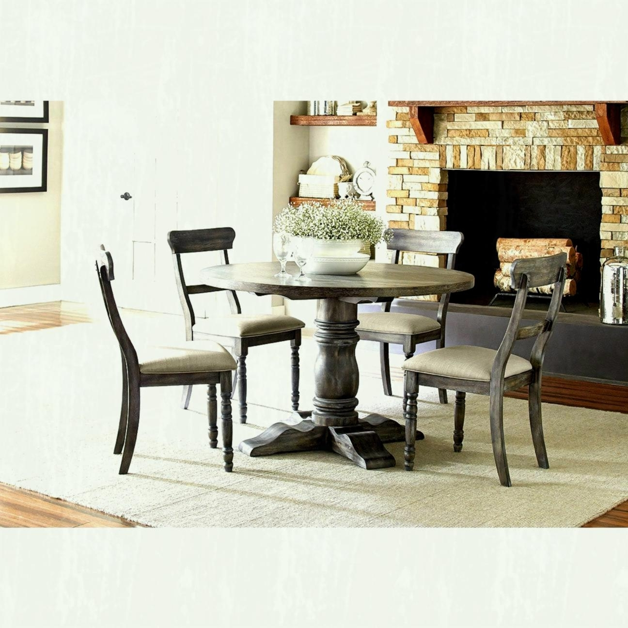 Preferred Jaxon Round Extension Dining Tables Intended For Modern Dining Table And Kitchen Tables Farmhouse Industrial (View 25 of 25)