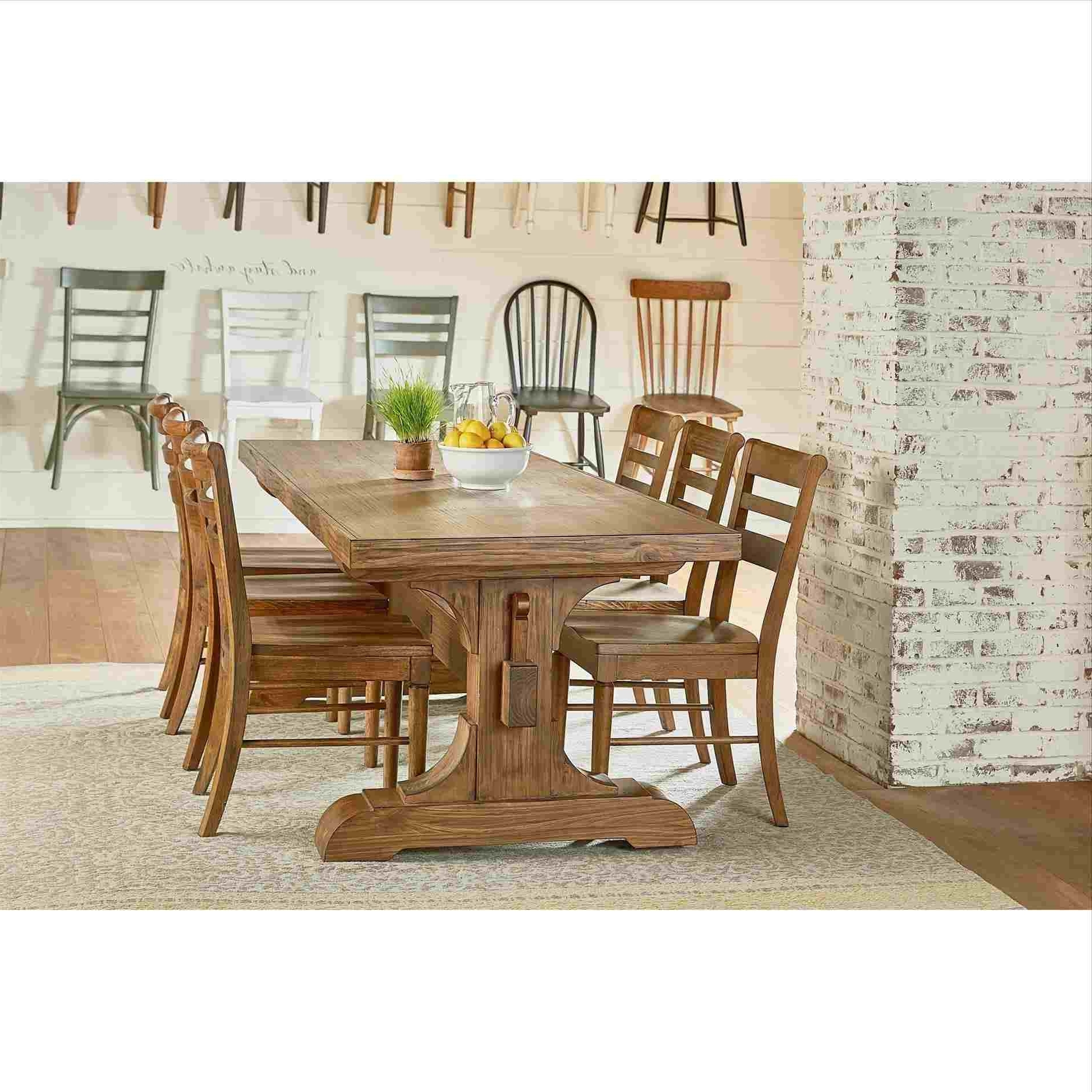 Preferred Joanna Gaines Farmhouse Dining Table (View 21 of 25)