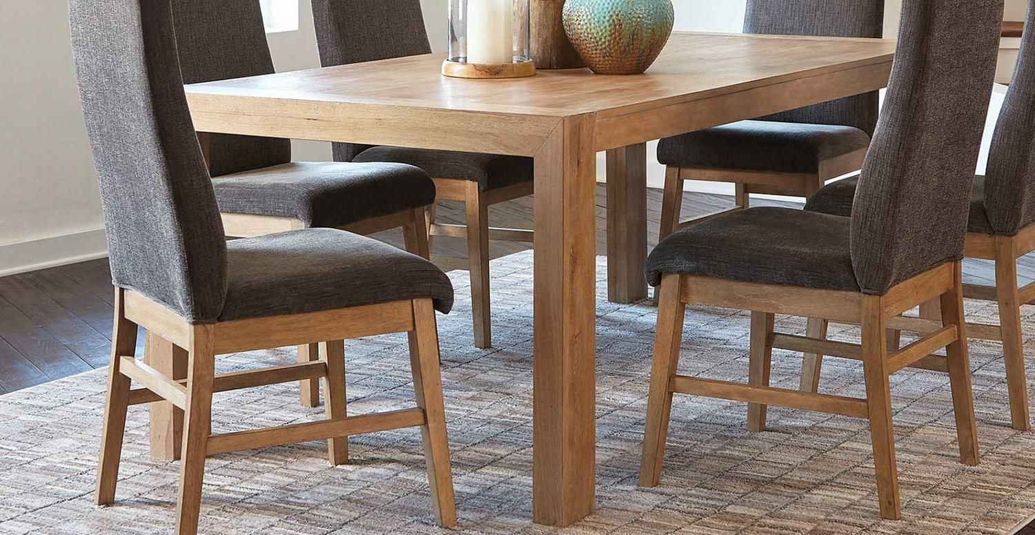 Preferred Kingston Dining Tables And Chairs For Coaster Kingston Dining Table – Drifted Acacia 107751 At Homelement (View 19 of 25)