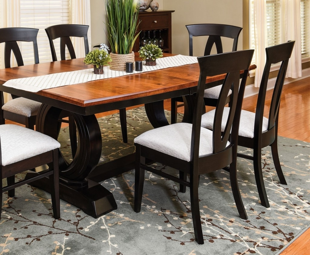 Preferred Kitchen Dining Tables And Chairs Inside Best Amish Dining Room Sets & Kitchen Furniture (View 13 of 25)
