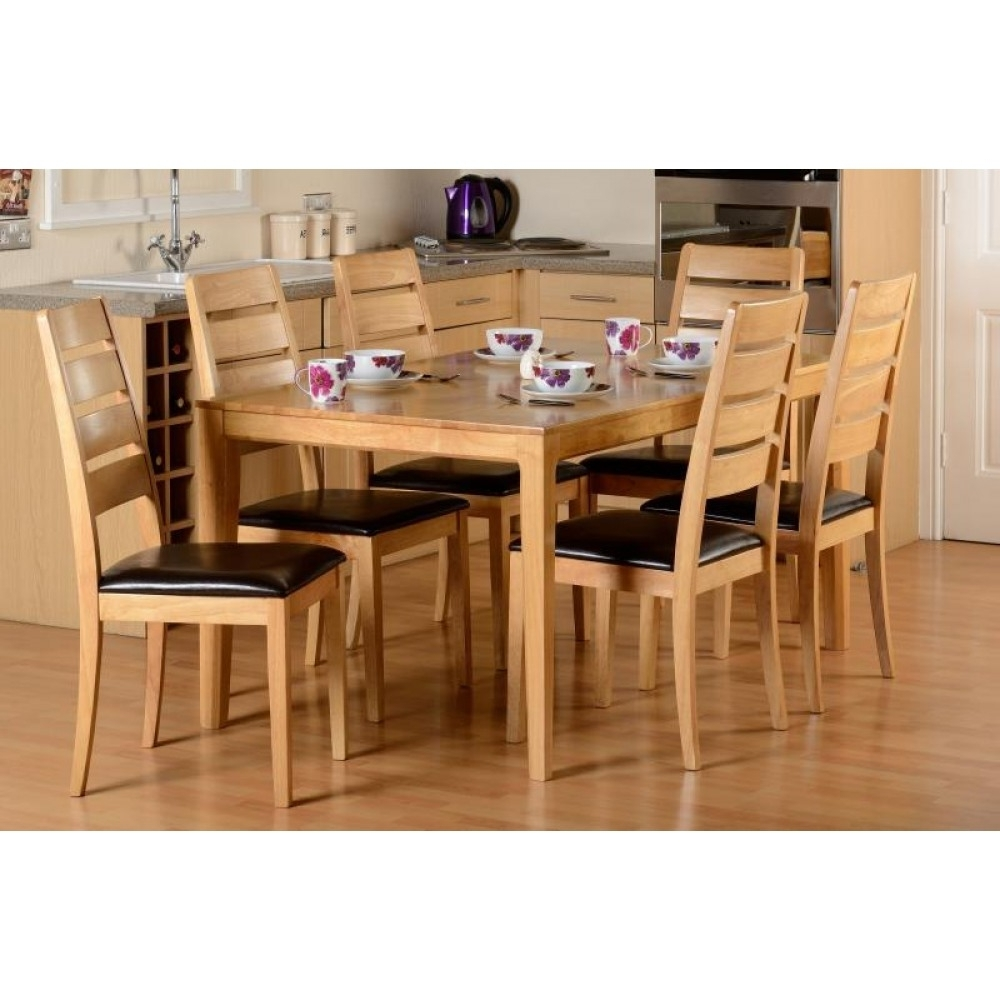 Preferred Logan 1+6 Dining Set With Regard To Logan 6 Piece Dining Sets (View 11 of 25)
