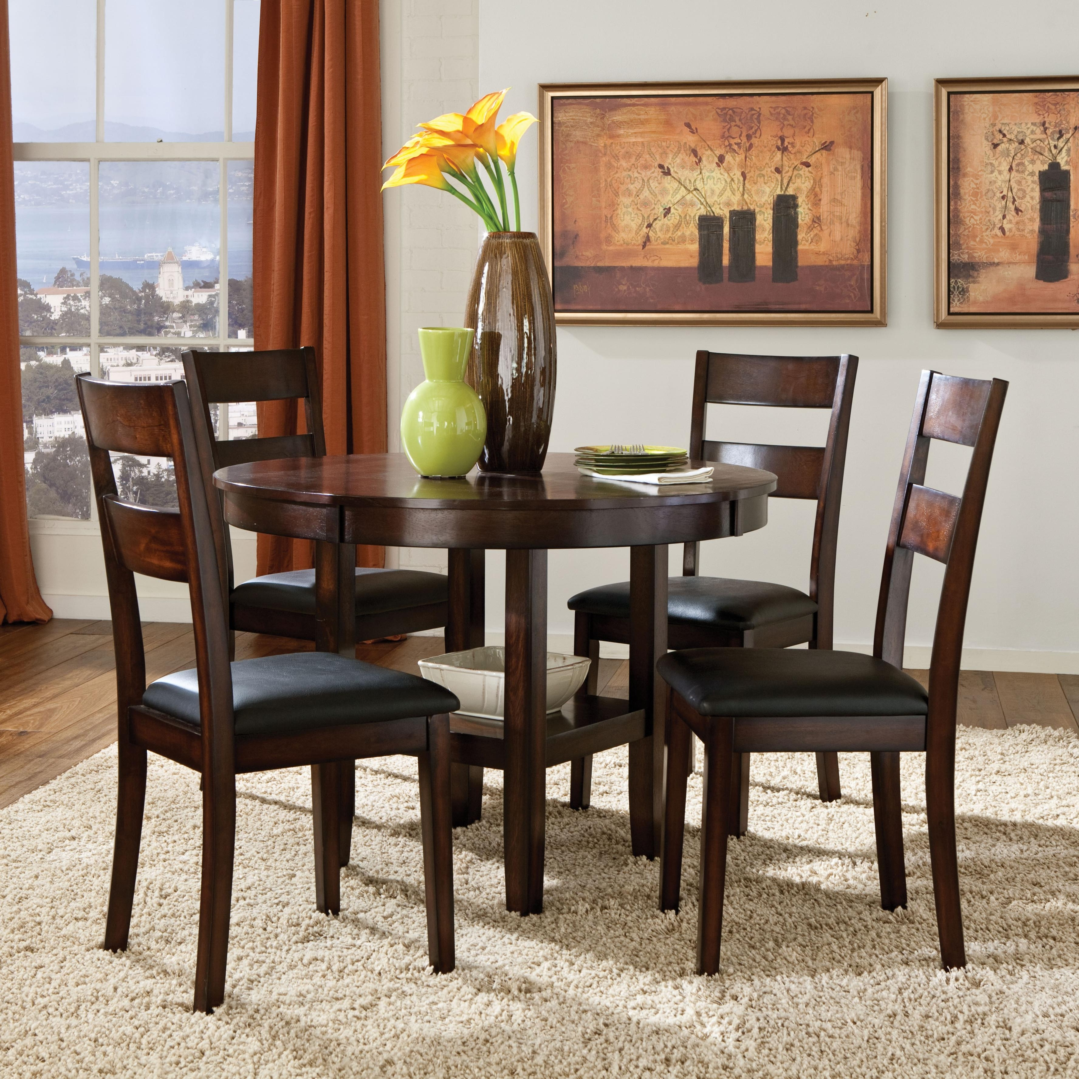 Preferred Macie 5 Piece Round Dining Sets Regarding 5 Piece Round Dining Table Set – Castrophotos (View 21 of 25)