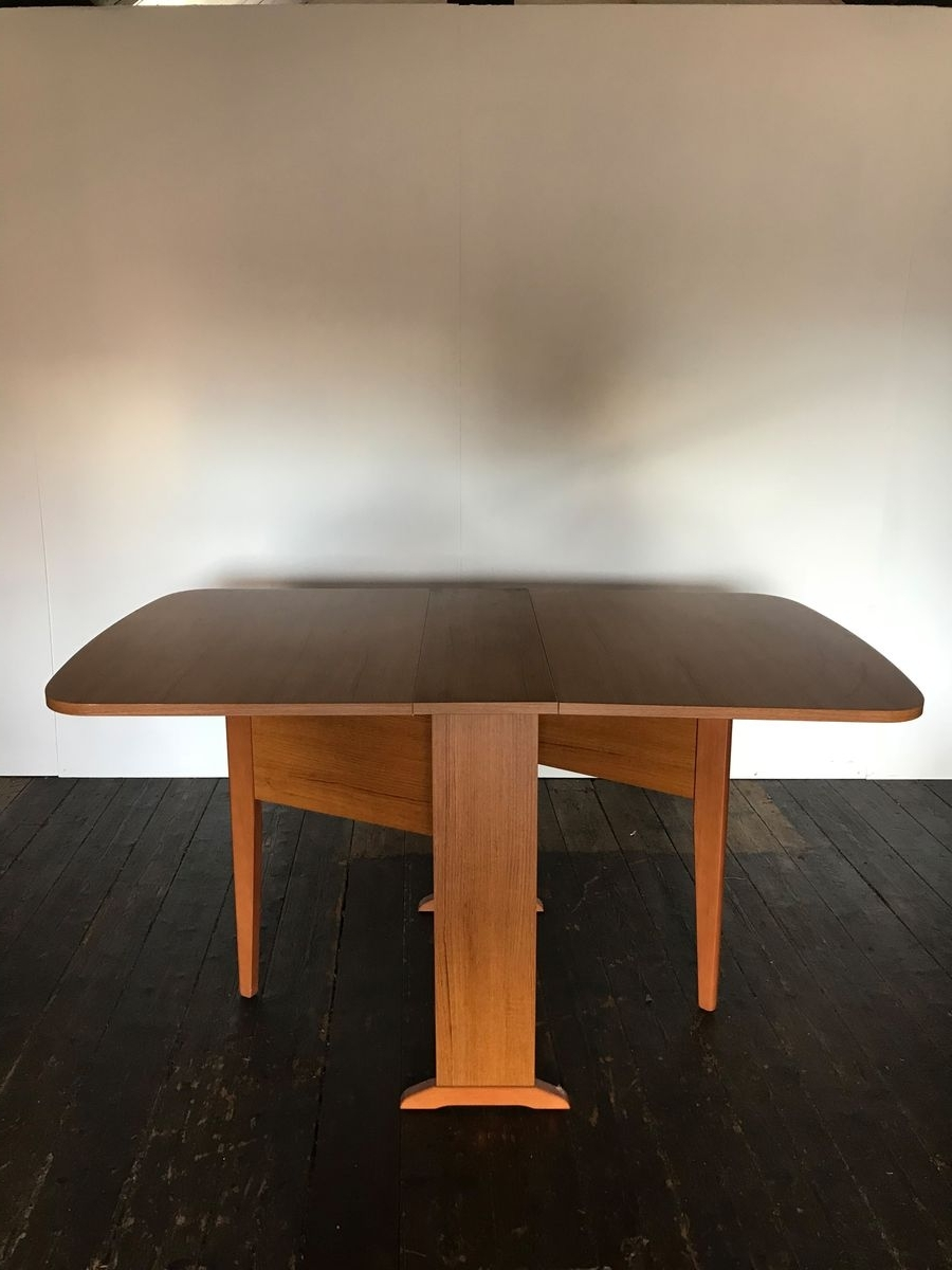 Preferred Mid Century Extendable Drop Leaf Dining Table For Sale At Pamono For Drop Leaf Extendable Dining Tables (Gallery 24 of 25)
