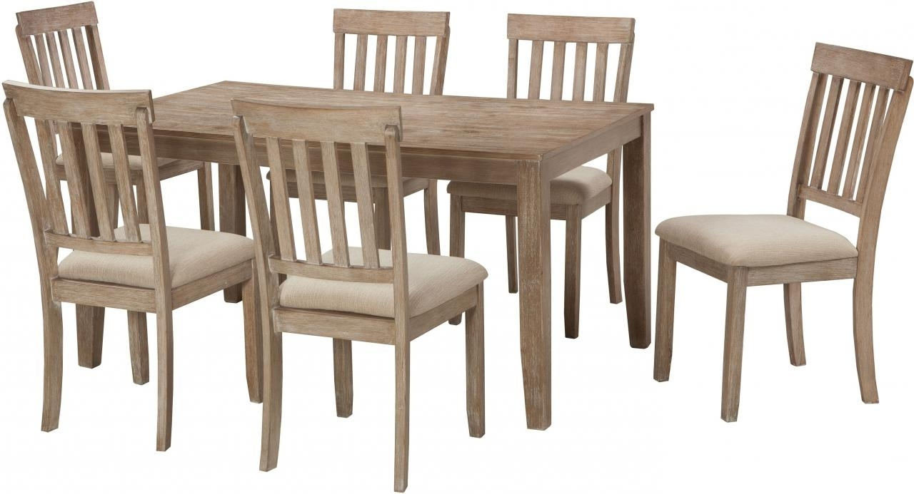 Preferred Norwood 7 Piece Rectangular Extension Dining Sets With Bench, Host & Side Chairs With O – Itfoxy (View 24 of 25)