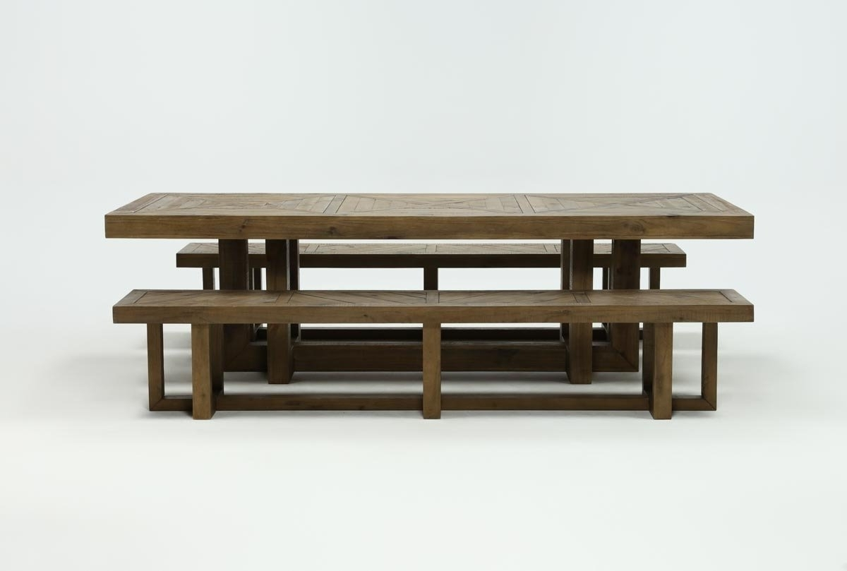 Preferred Palazzo 3 Piece Dining Table Set (View 8 of 25)