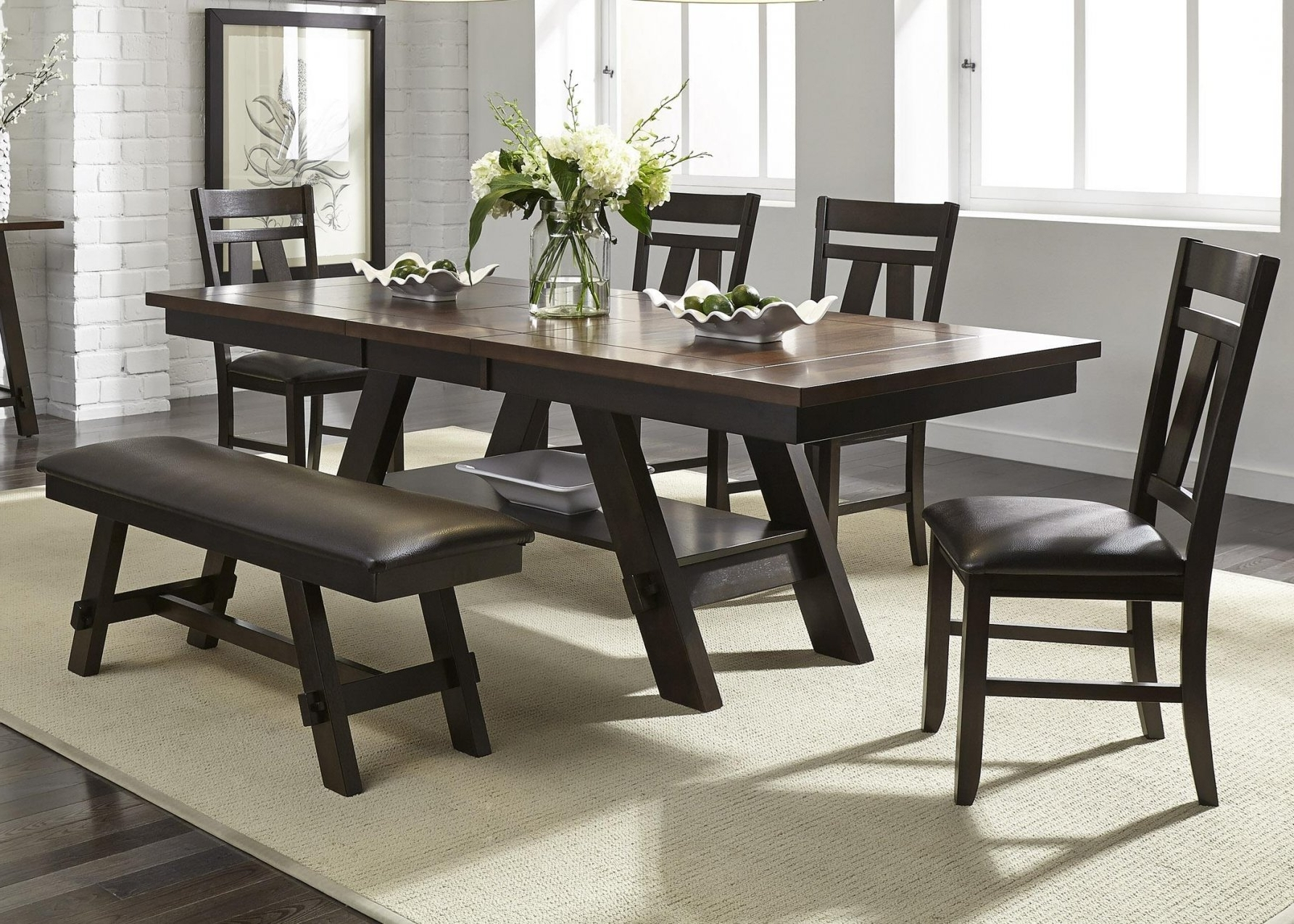 Preferred Partridge 7 Piece Dining Sets Regarding 6 Piece Dining Table Set – Castrophotos (View 21 of 25)