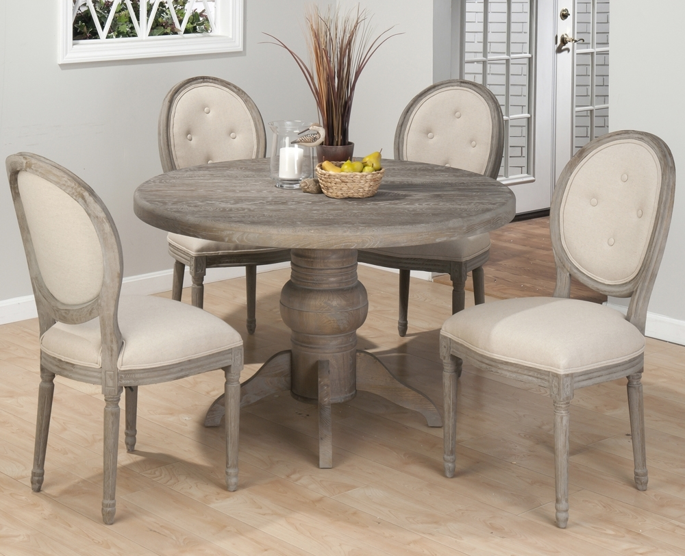 Preferred Pedestal Dining Tables And Chairs For 53 Pedestal Dining Table Set, Ella Honey Oak Round Pedestal Dining (View 23 of 25)