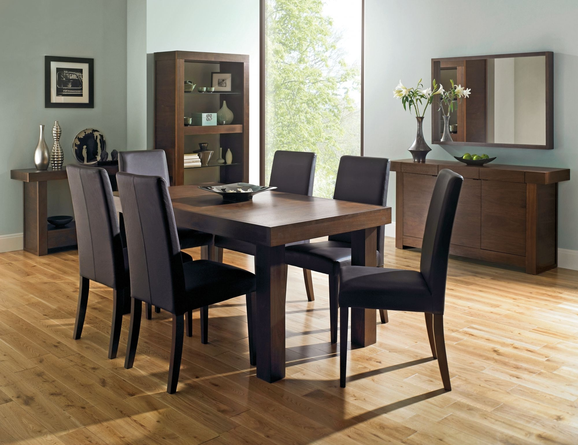 Preferred Round 6 Person Dining Tables Throughout Akita 6 Seater Panel Dining Table – Large (View 19 of 25)