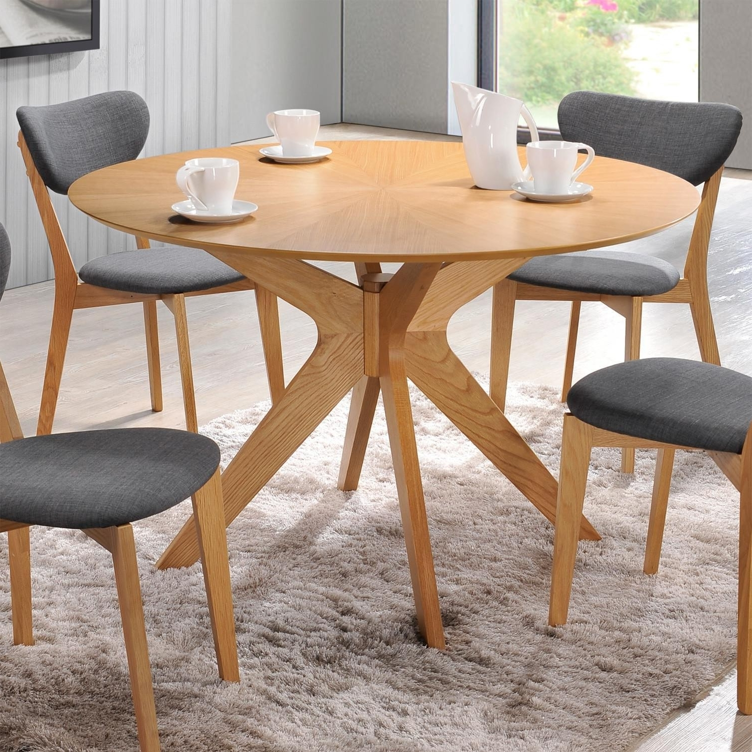 Preferred Scandinavian Dining Tables And Chairs Inside Scandinavian Dining Tables Fresh All Modern Furniture (View 12 of 25)