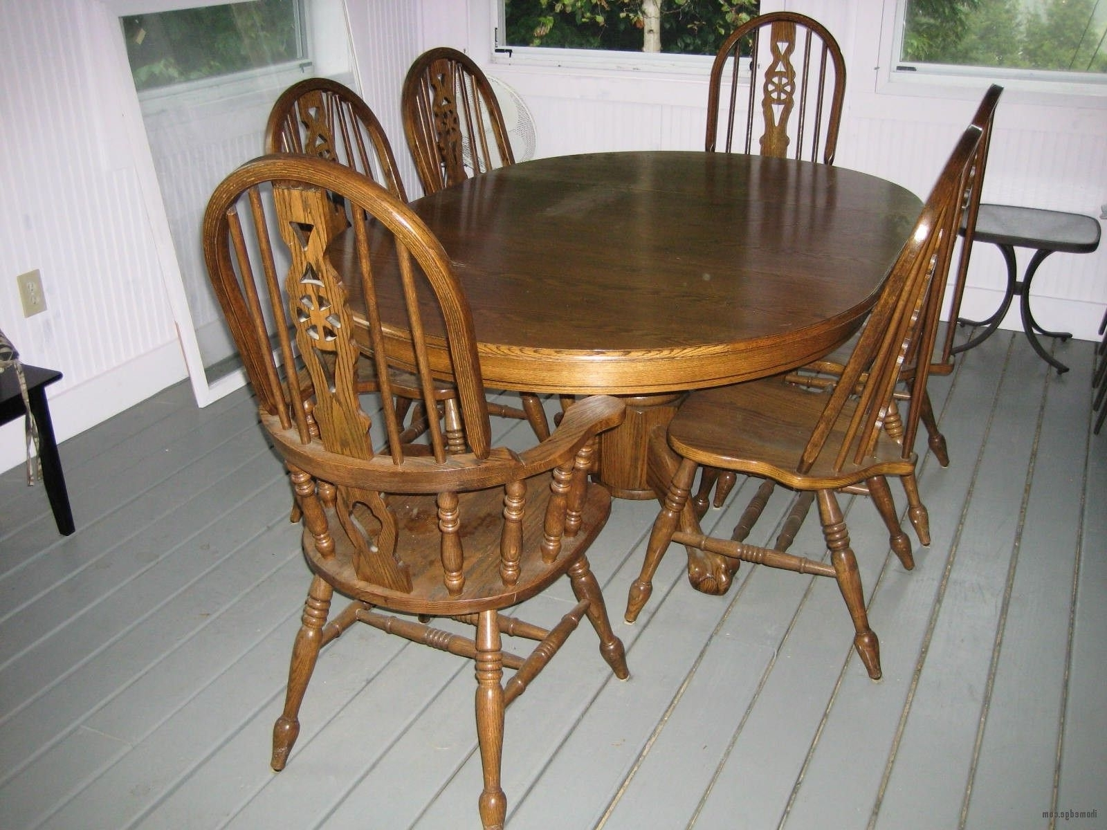 Featured Photo of Second Hand Oak Dining Chairs