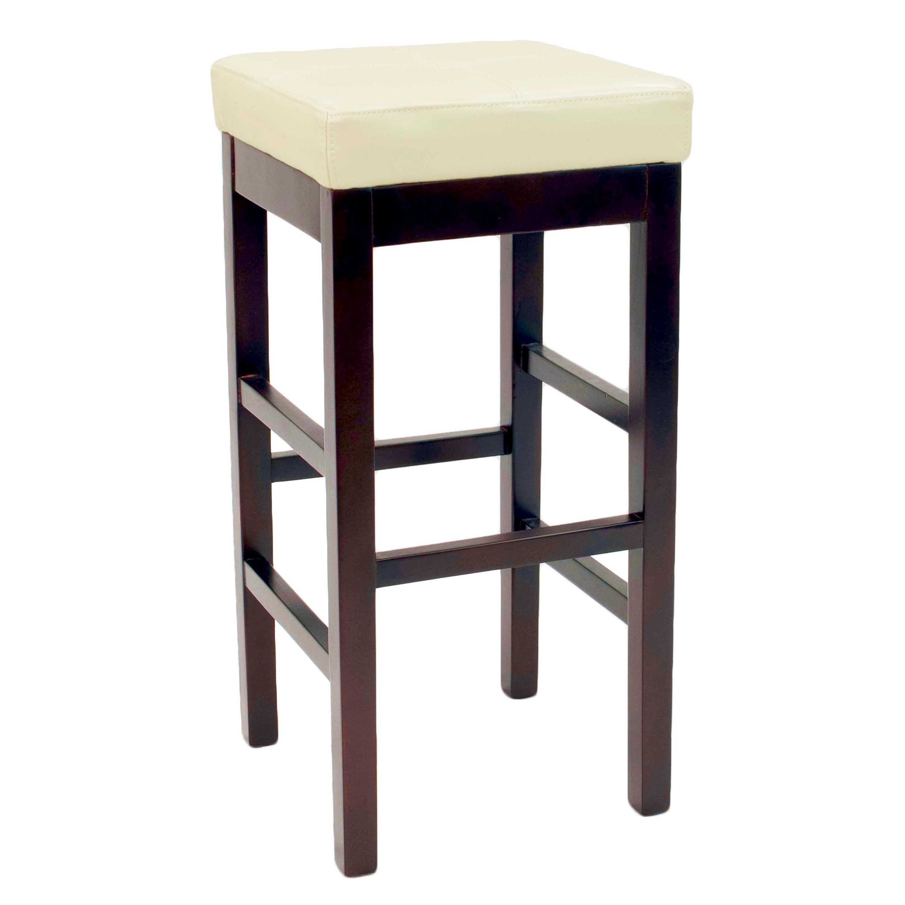 Preferred Shop Copper Grove Pennyrile Backless Leather Counter Stool – Free In Valencia 4 Piece Counter Sets With Bench & Counterstool (View 16 of 25)