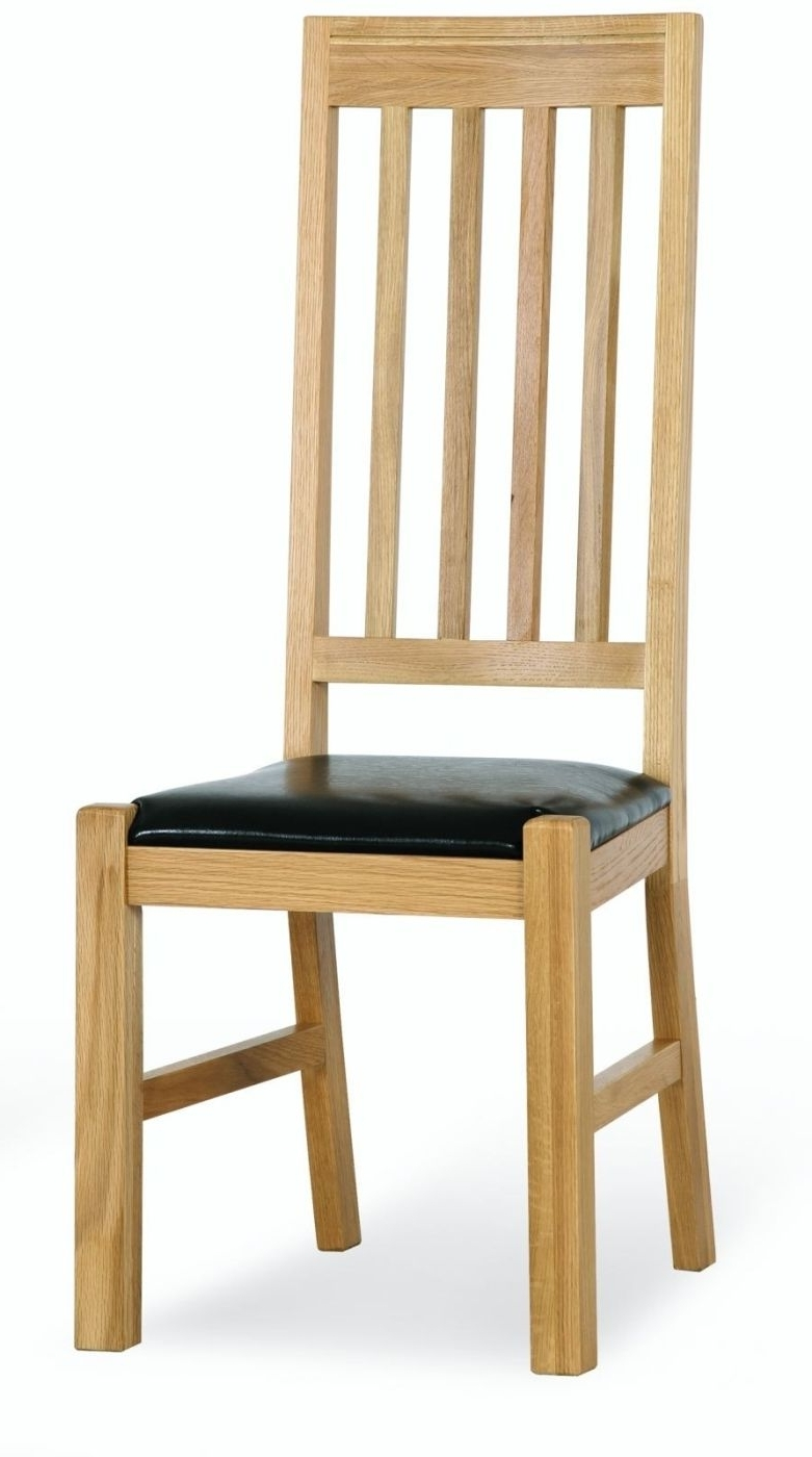 Preferred Solid Oak Dining Room Furniture Set Eight Chairs Ebay Chair Cape Regarding Dining Chairs Ebay (View 18 of 25)