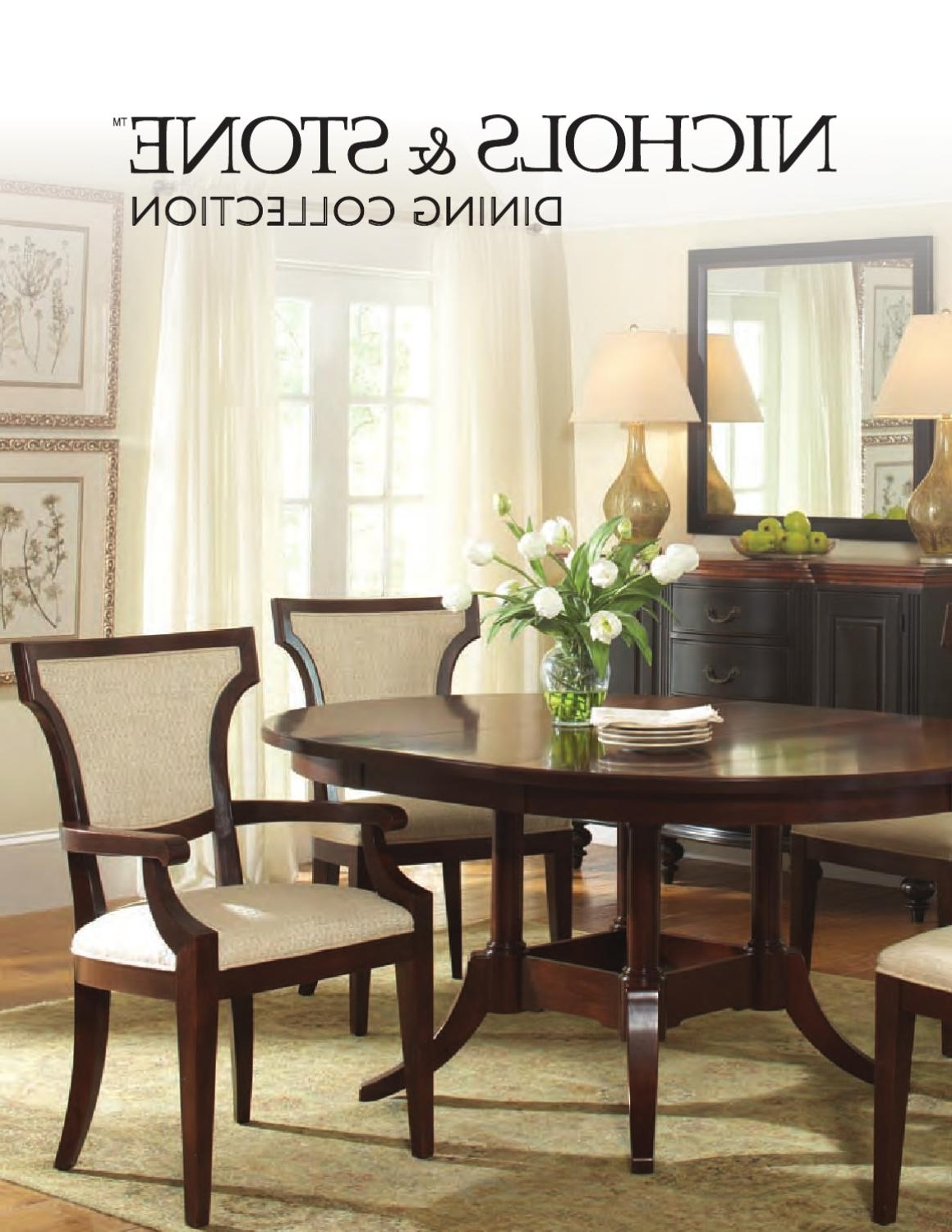 Preferred Walden Extension Dining Tables Within Dining Collectionnichols & Stonestickley – Issuu (View 17 of 25)