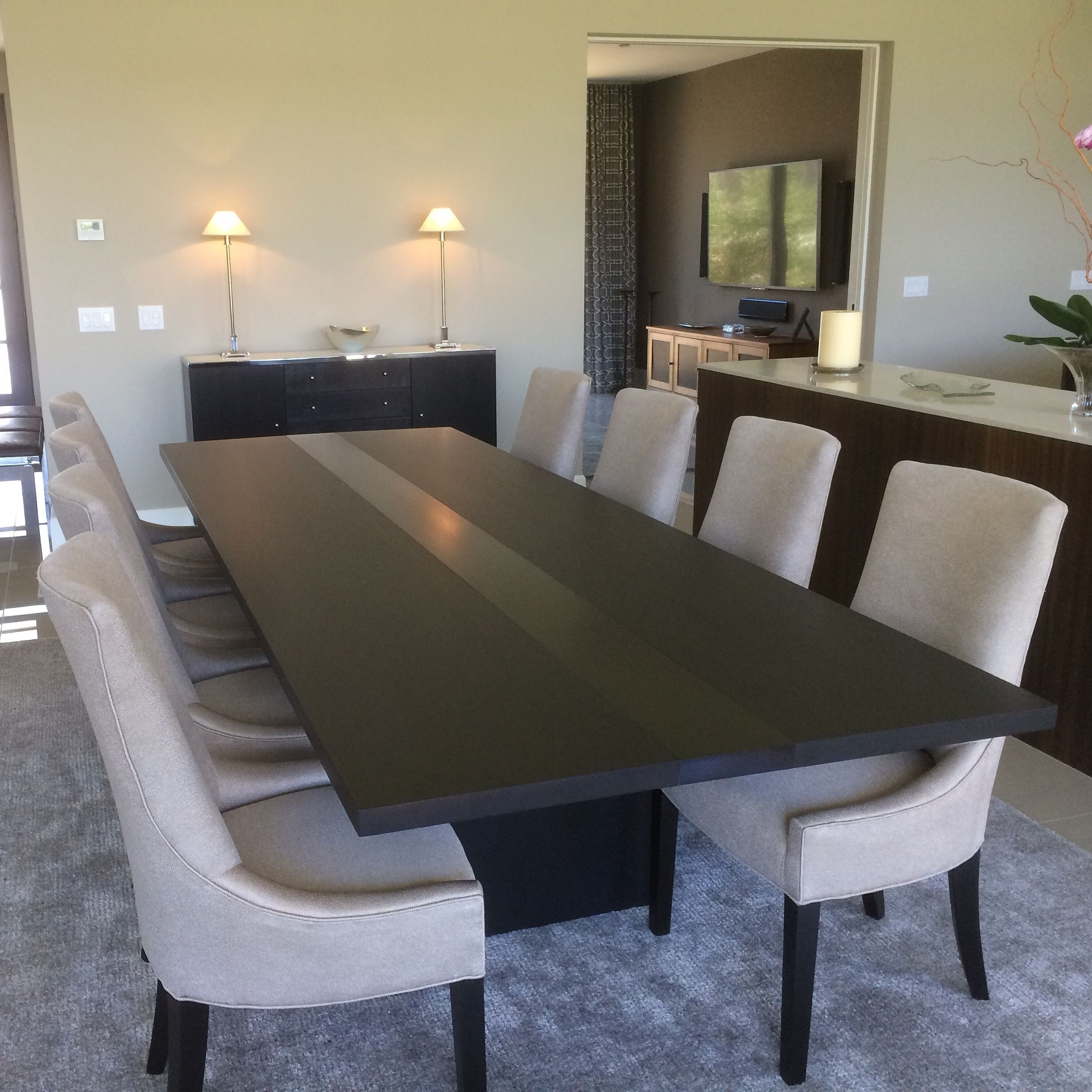 Preferred White Dining Suites Regarding Modern Dining Tables (View 23 of 25)