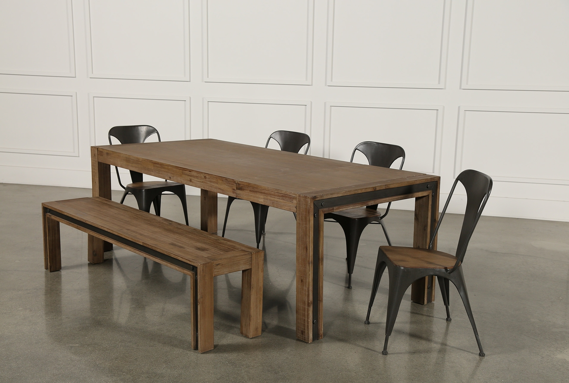 Featured Photo of Amos 7 Piece Extension Dining Sets