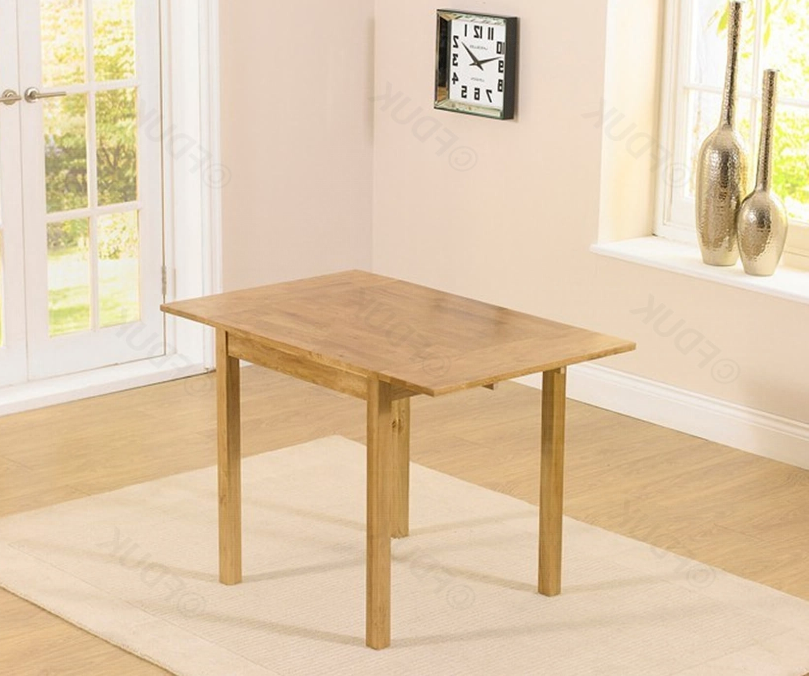 Promo 70Cm Rectangular Extending Dining Table Only With Regard To Extending Rectangular Dining Tables (View 14 of 25)