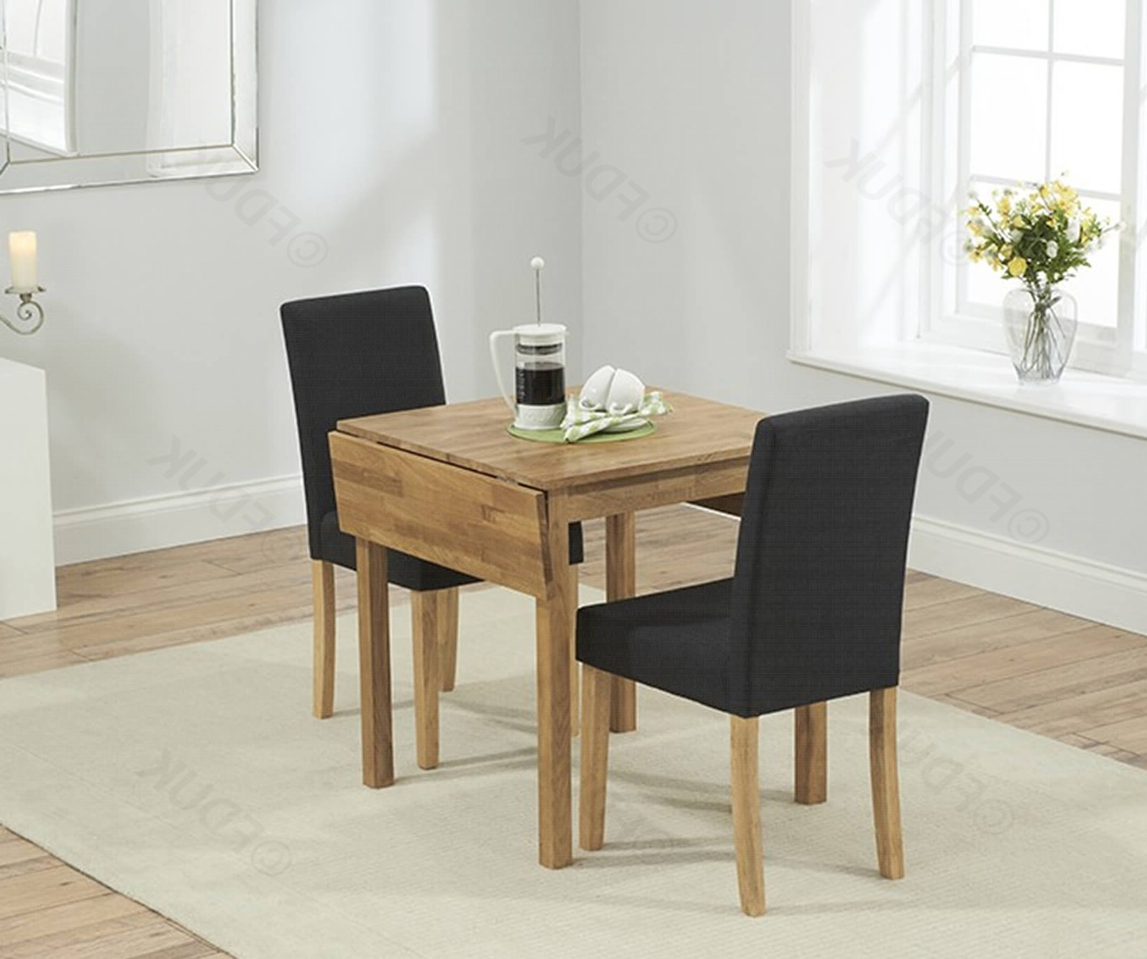 Promo Oak Rectangular Extending Dining Table With (Gallery 10 of 25)