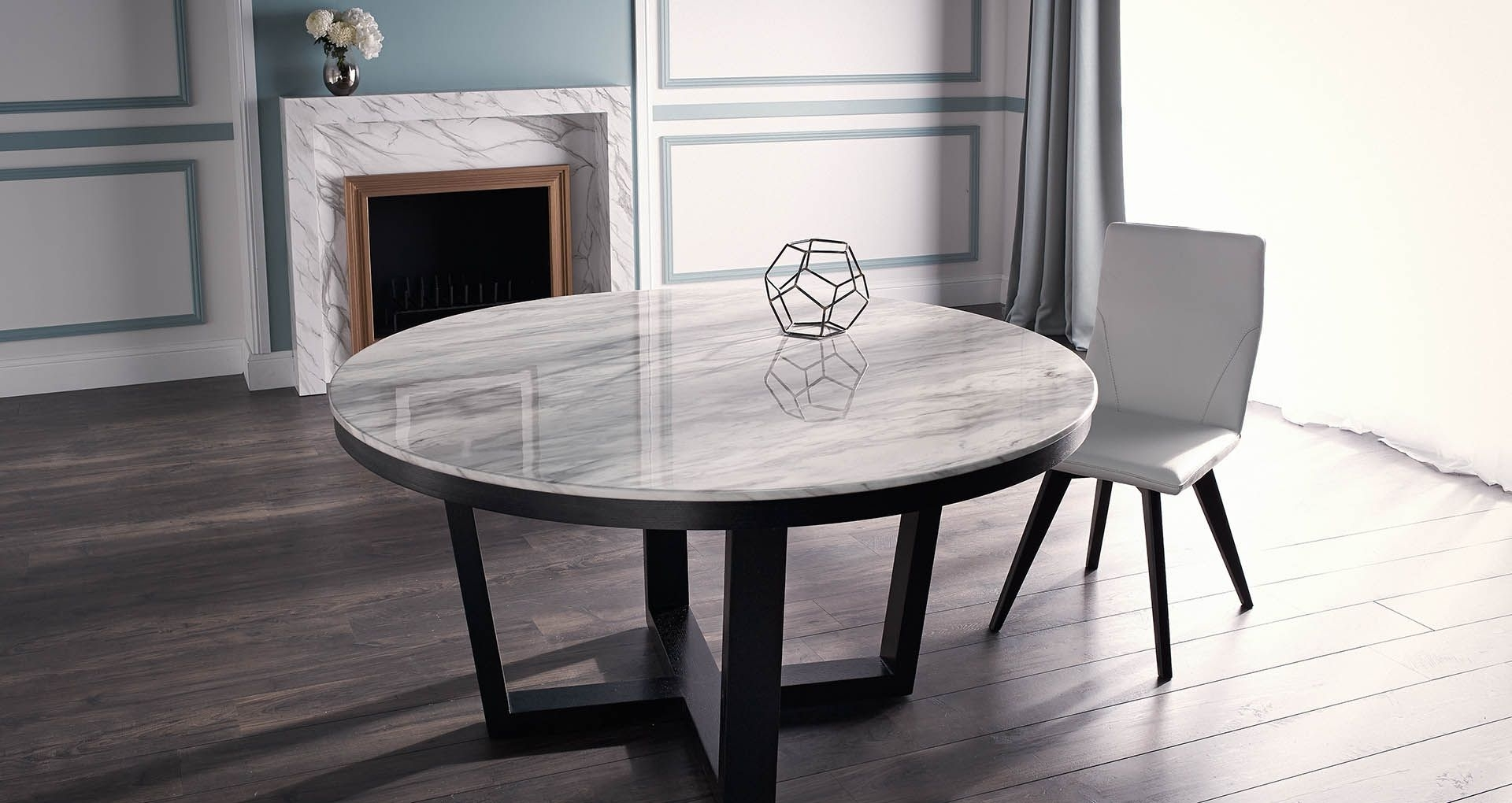 Provence Dining Tables Within Trendy Provence Round – Dining Tables – Products (Gallery 10 of 25)