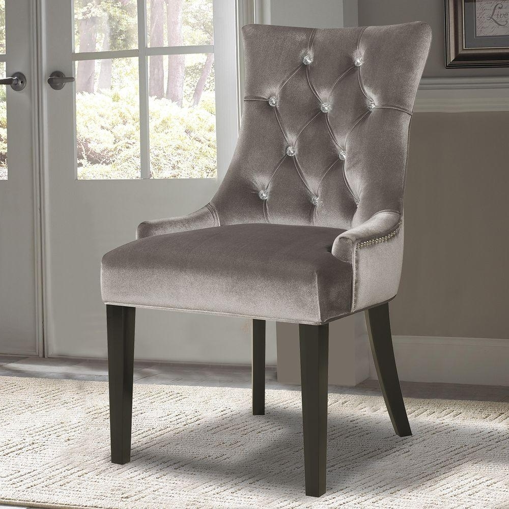 Pulaski Furniture Chrome Velvet Dining Chair Ds 2514 900 204 – The With Fashionable Chrome Dining Chairs (Gallery 11 of 25)