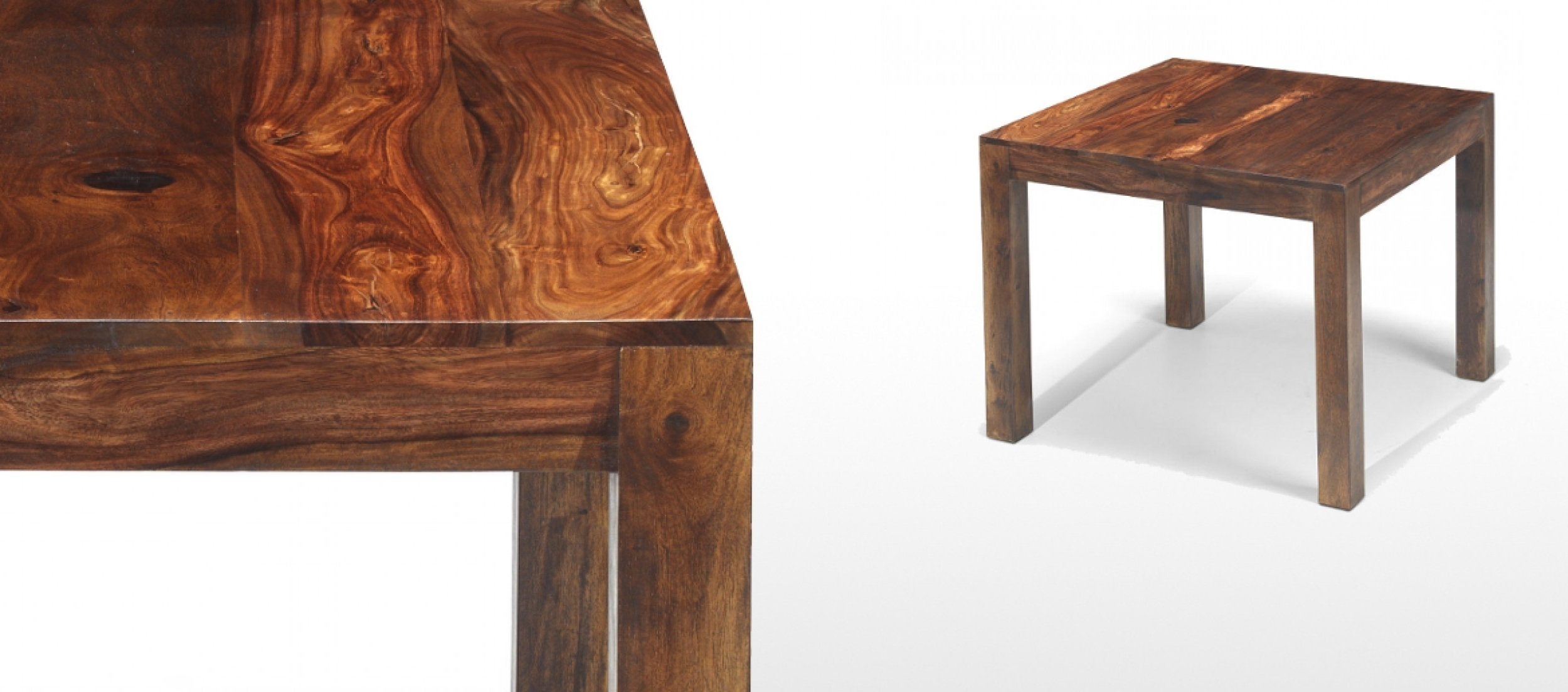 Quercus Living Intended For Well Known Sheesham Wood Dining Tables (View 11 of 25)