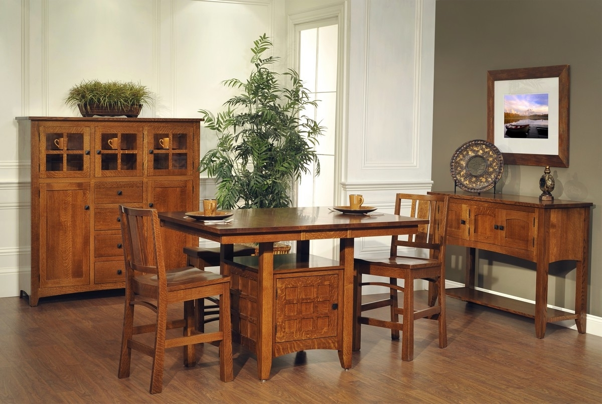 Recent 341 825 Bradford Mission Mission Dining Table Qswo 3 – Gish's Amish Within Bradford Dining Tables (View 18 of 25)