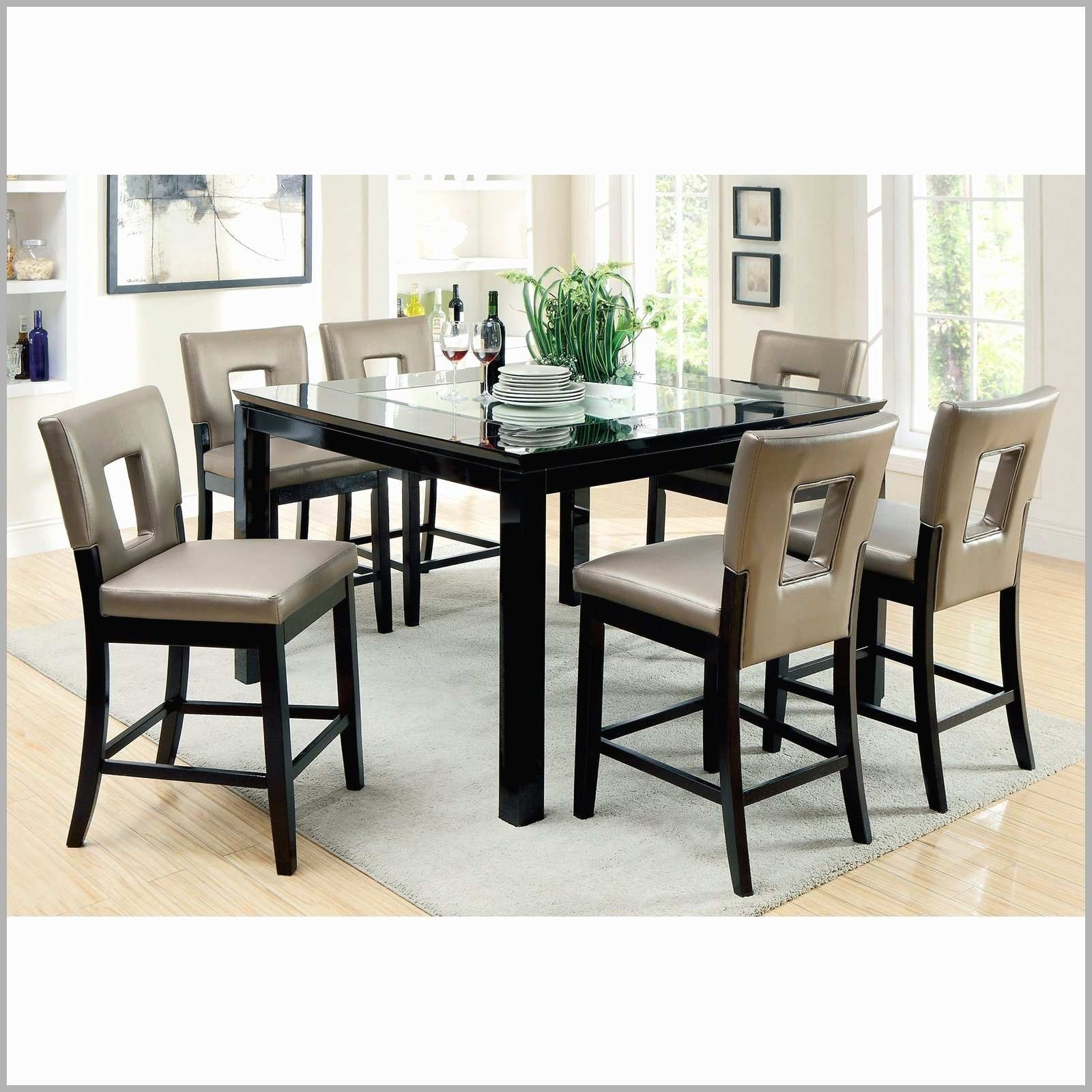Recent 8 Seater Black Dining Tables Throughout White High Gloss Extending Dining Table Luxury 8 Seater Dining Table (View 21 of 25)